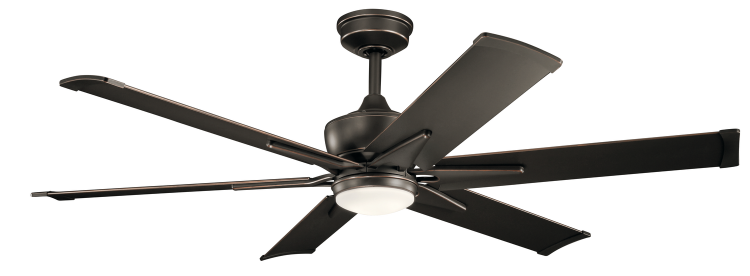 60 inchCeiling Fan from the Szeplo Patio collection by Kichler 300300OZ