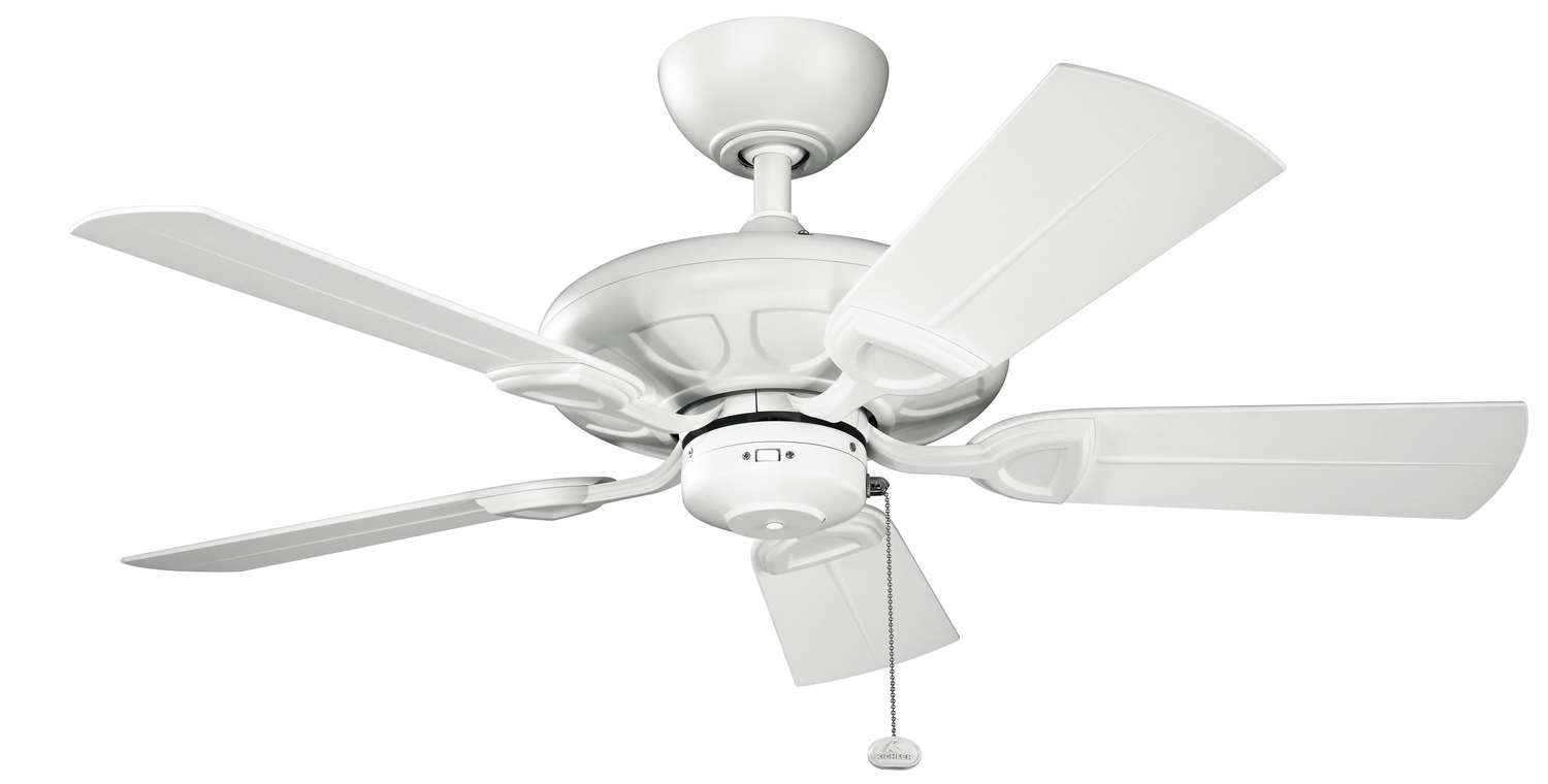 42 inchCeiling Fan from the Kevlar collection by Kichler 310144MWH