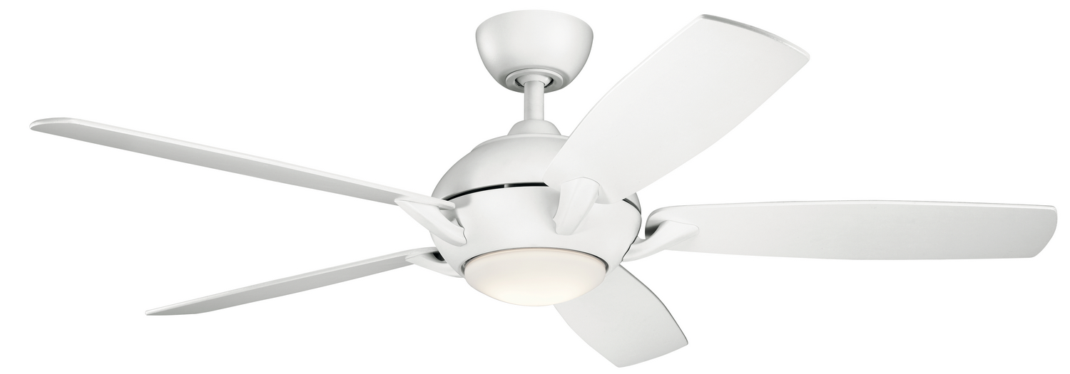 54 inchCeiling Fan from the Geno collection by Kichler 330001MWH