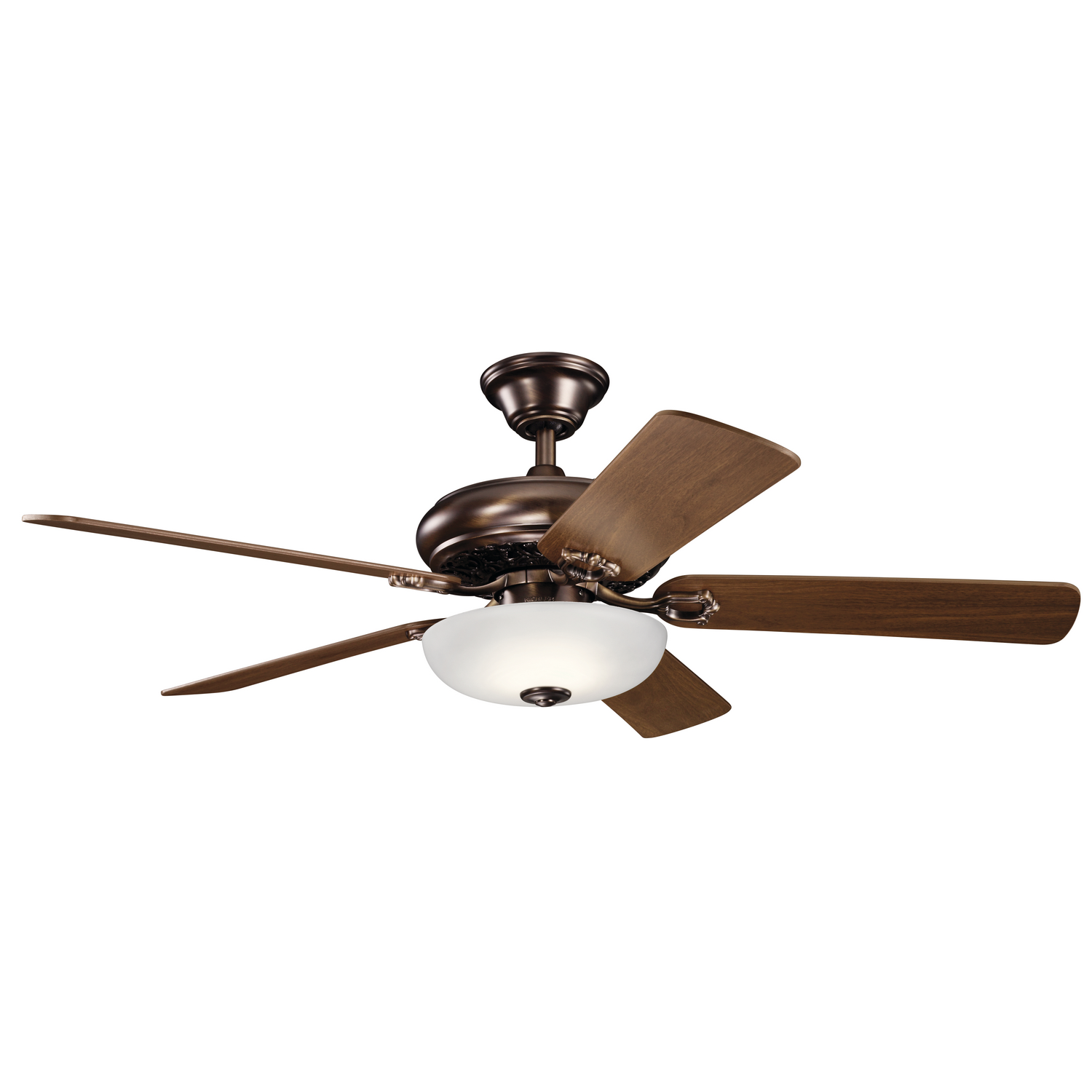52 inchCeiling Fan from the Bentzen collection by Kichler 330005OBB