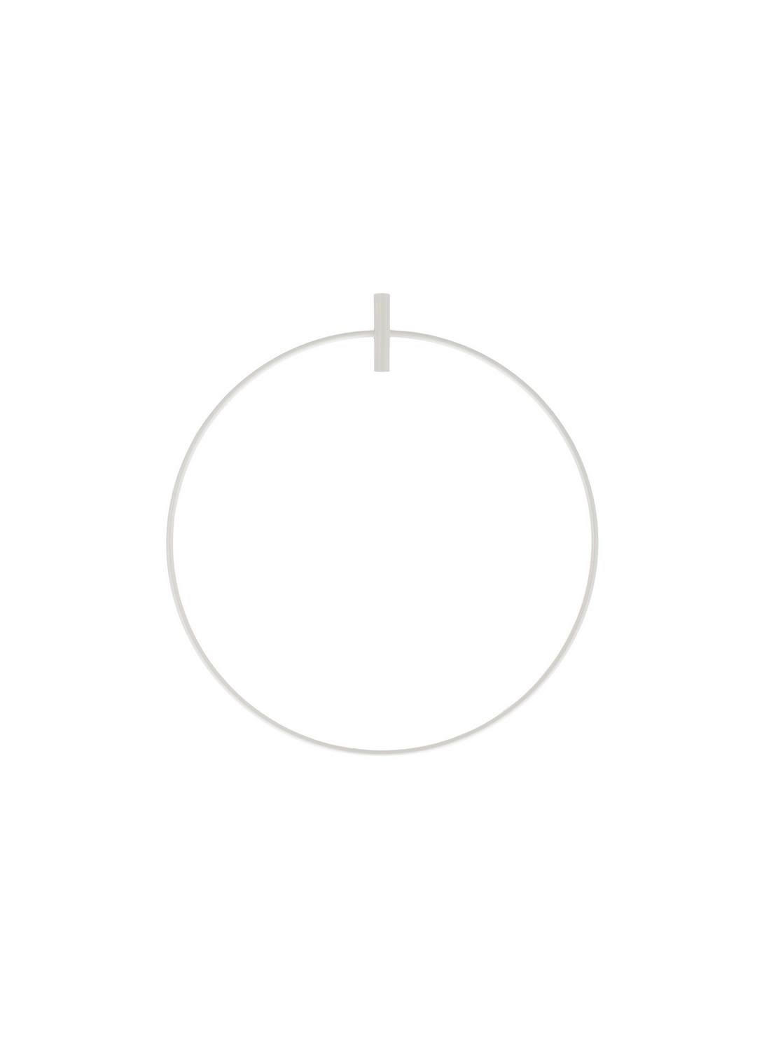 Cricular Frame For Line Voltage Pendant from the Locus collection by Tech Lighting 700LOCUSR23W