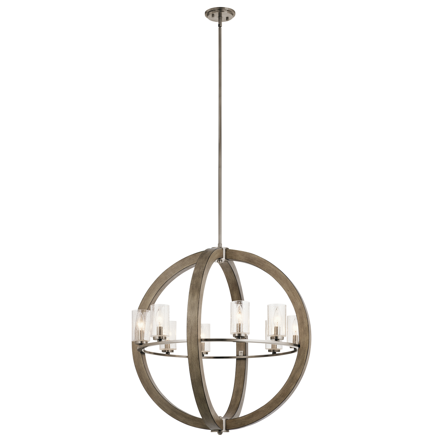 Eight Light Chandelier from the Grand Bank collection by Kichler 43190DAG
