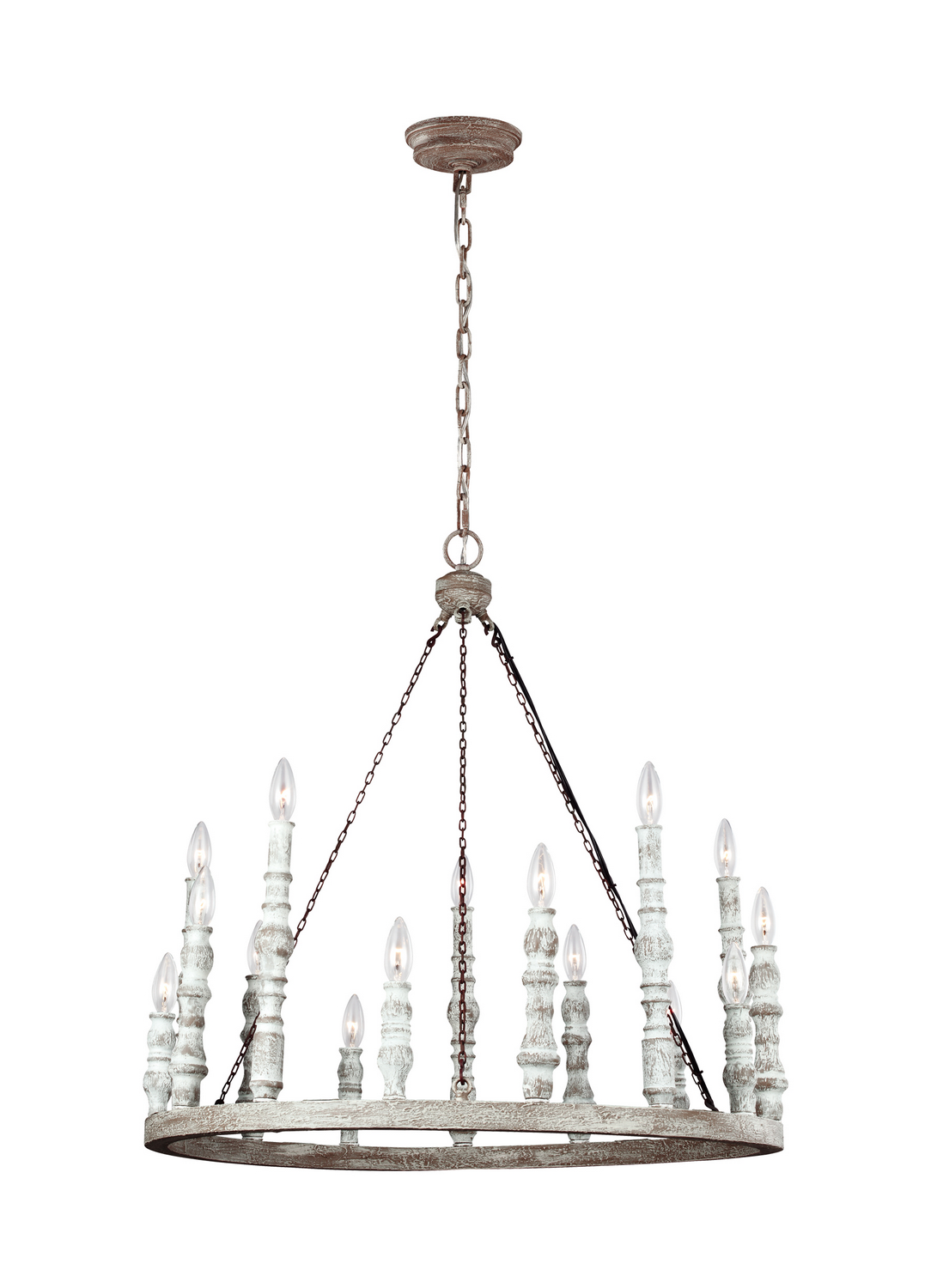 15 Light Chandelier from the Norridge collection by Feiss F314215DFBDWH