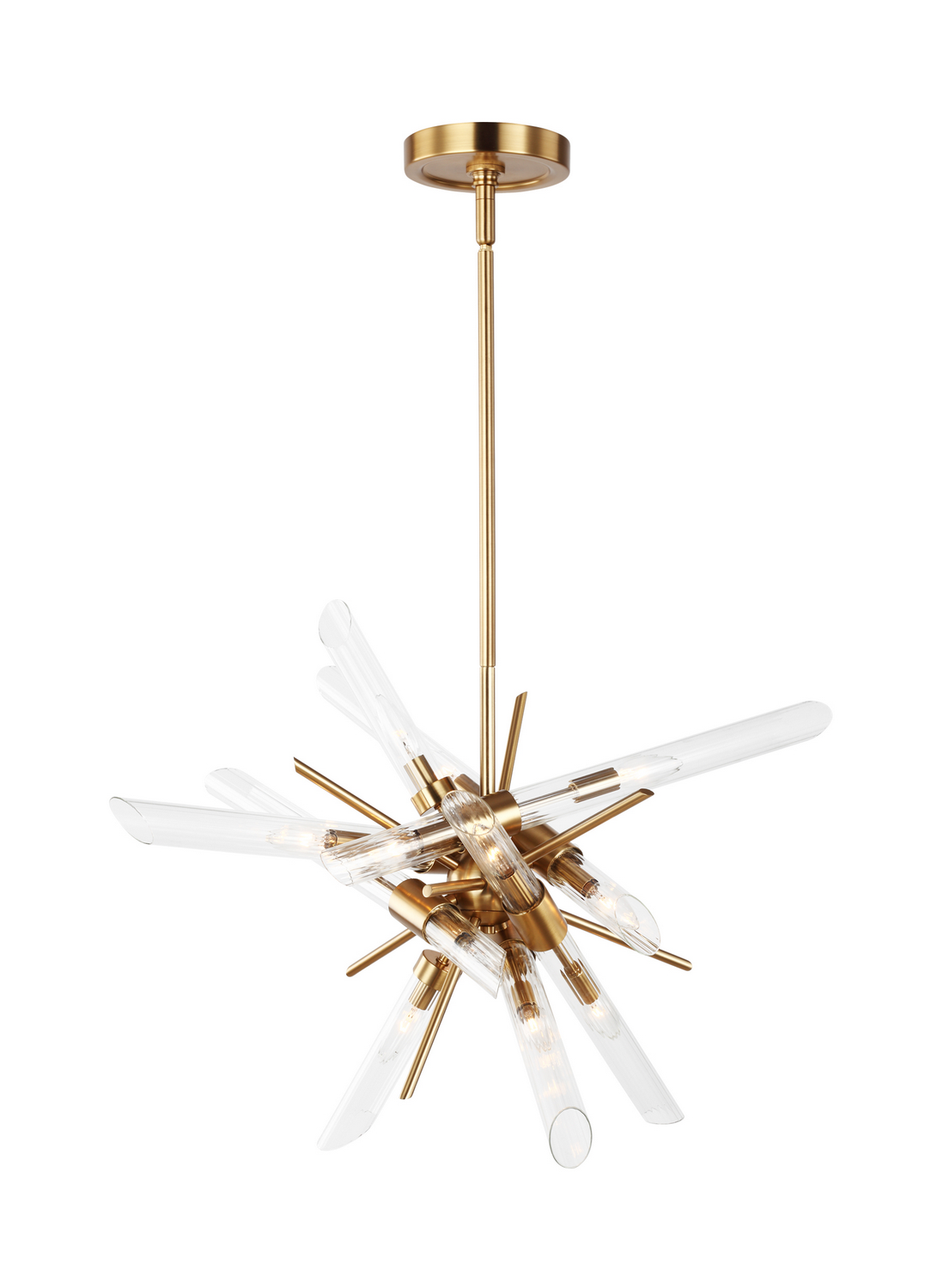 14 Light Chandelier from the Quorra collection by Feiss F318114BBS