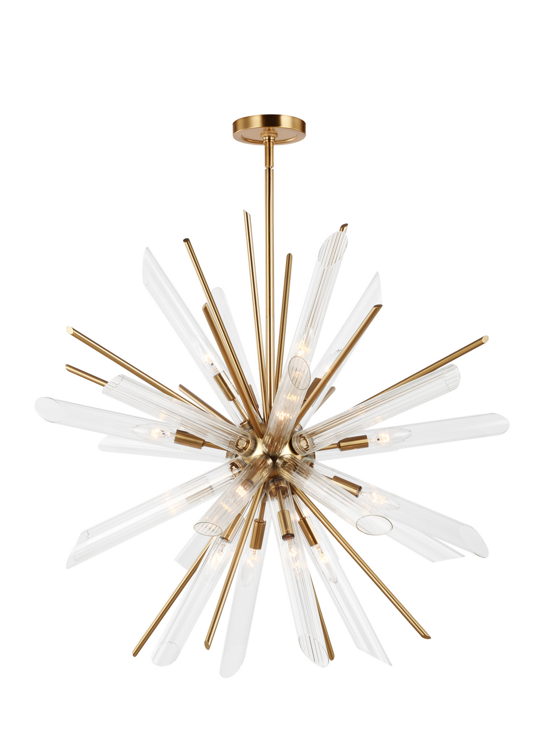 16 Light Chandelier from the Quorra collection by Feiss F318216BBS