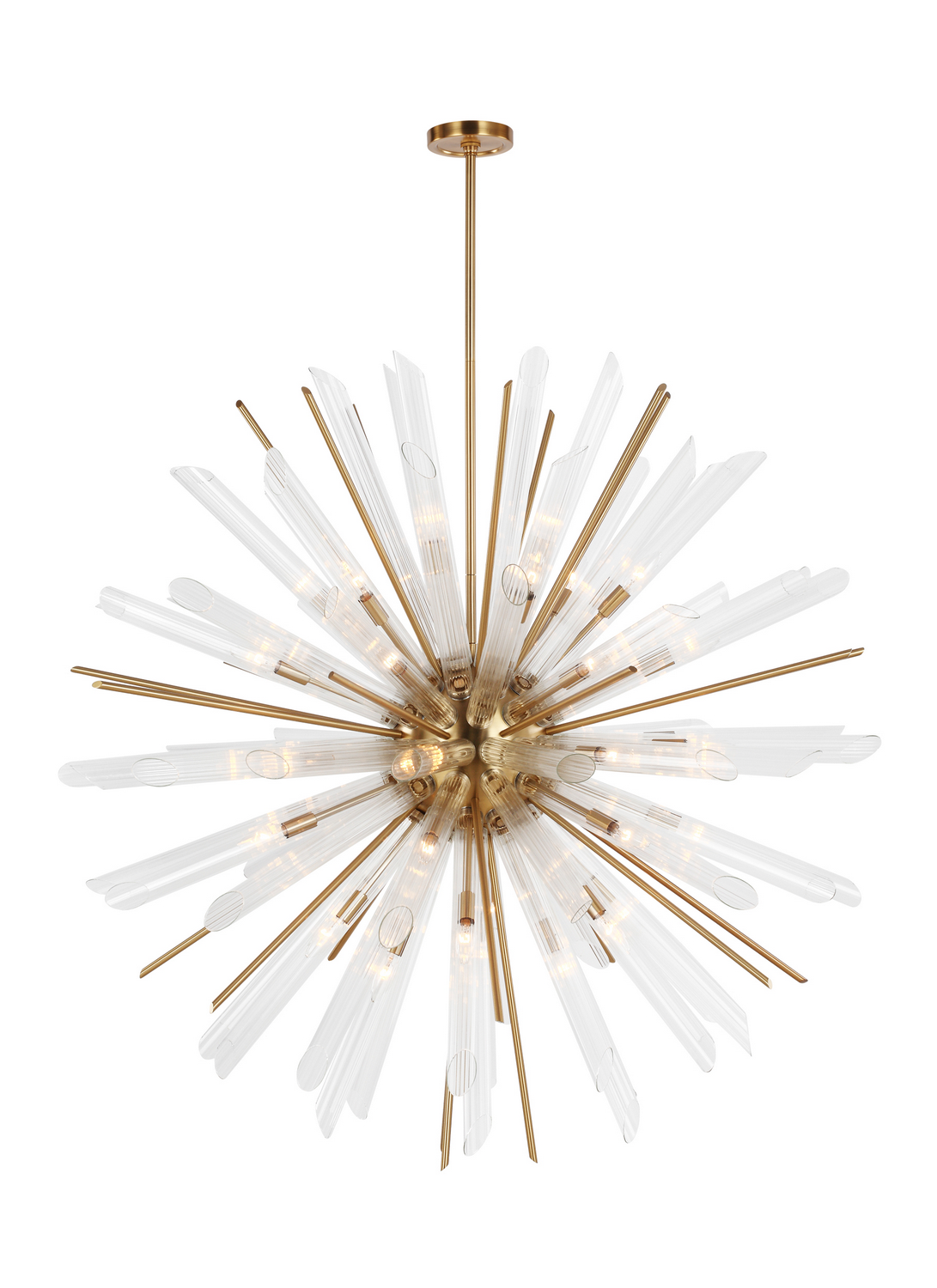 41 Light Chandelier from the Quorra collection by Feiss F318341BBS