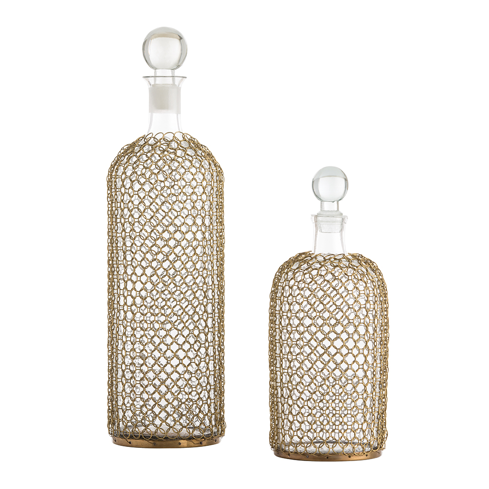 Decanters Set of 2 from the Drexel collection by Arteriors 2614