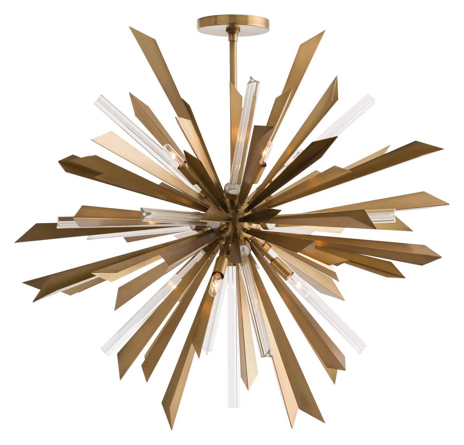 Eight Light Chandelier from the Waldorf collection by Arteriors 89029