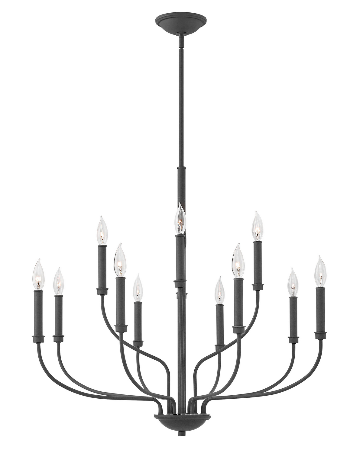 12 Light Chandelier from the Alister collection by Hinkley 3078KZ