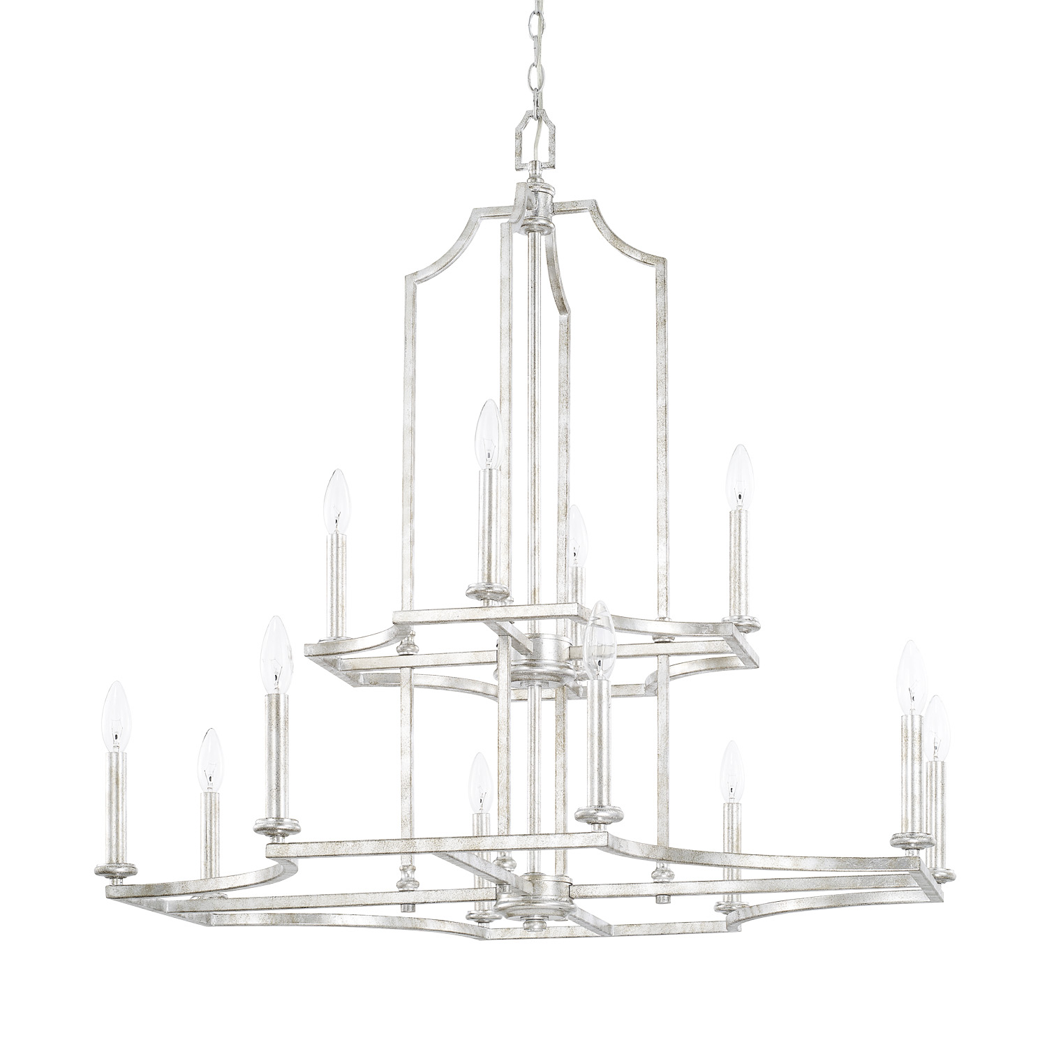 12 Light Chandelier from the Oxford collection by Capital Lighting 419601SP