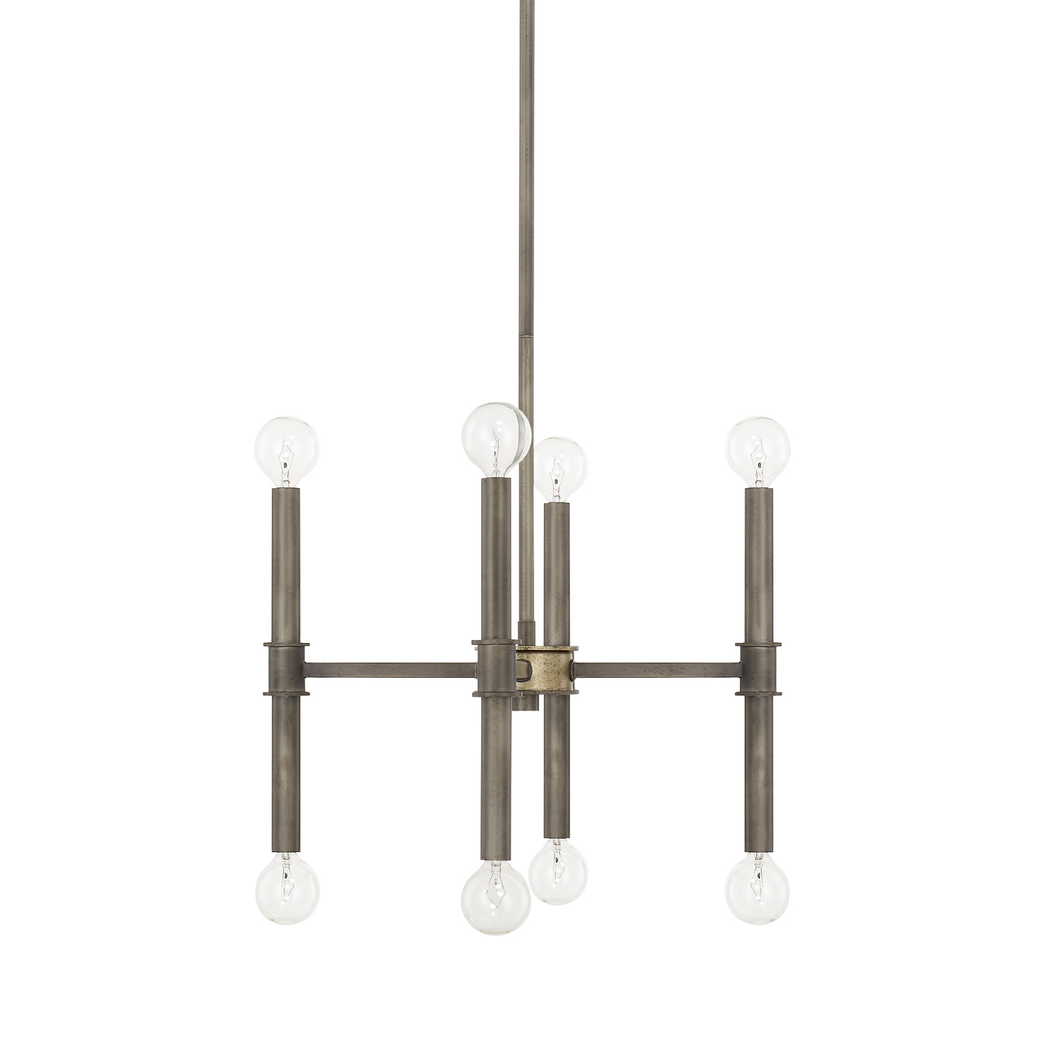Eight Light Chandelier from the Gavin collection by Capital Lighting 421481IG