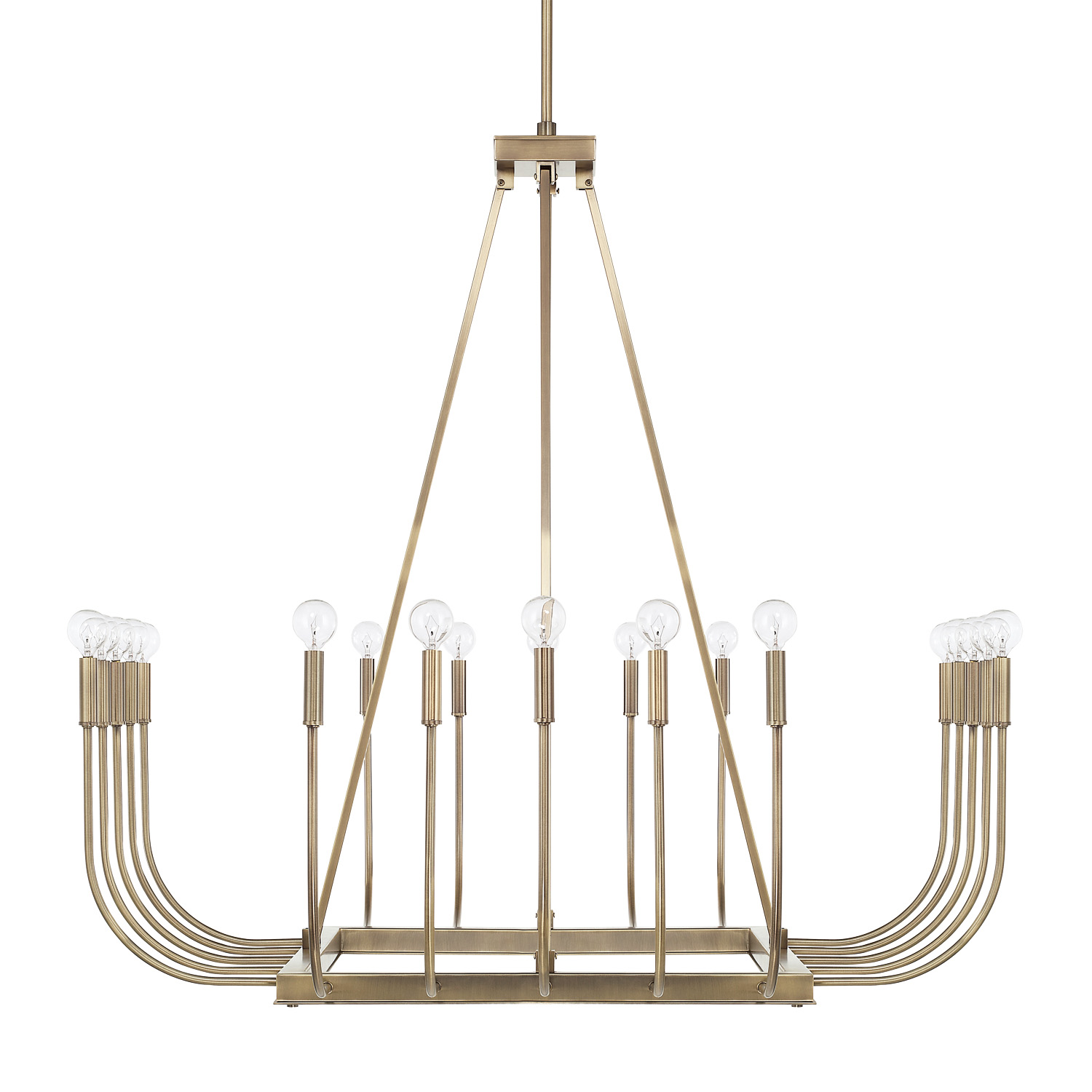 20 Light Chandelier from the Zander collection by Capital Lighting 421903AD