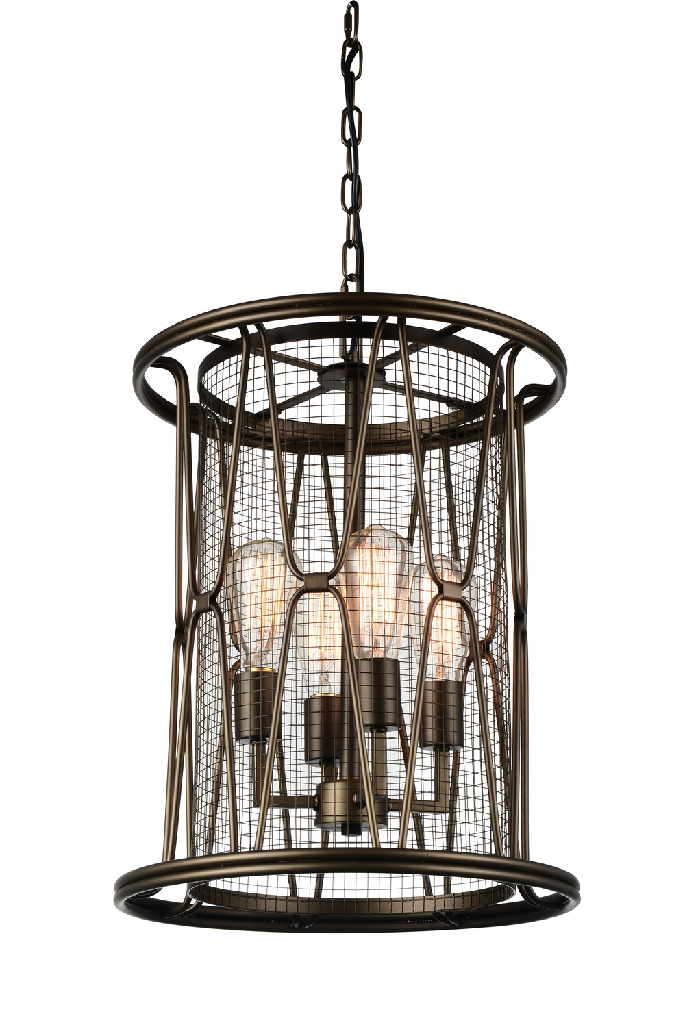 Four light chandelier crystal world four light chandelier light brown arubaitofo Image collections