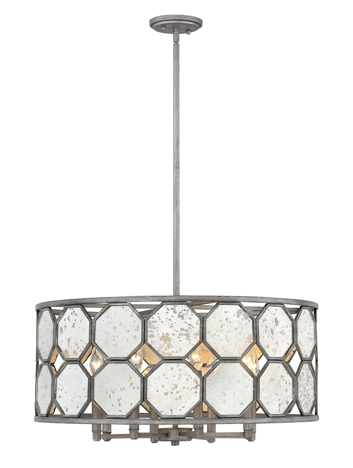 Eight Light Chandelier from the Lara collection by Hinkley 3566BV