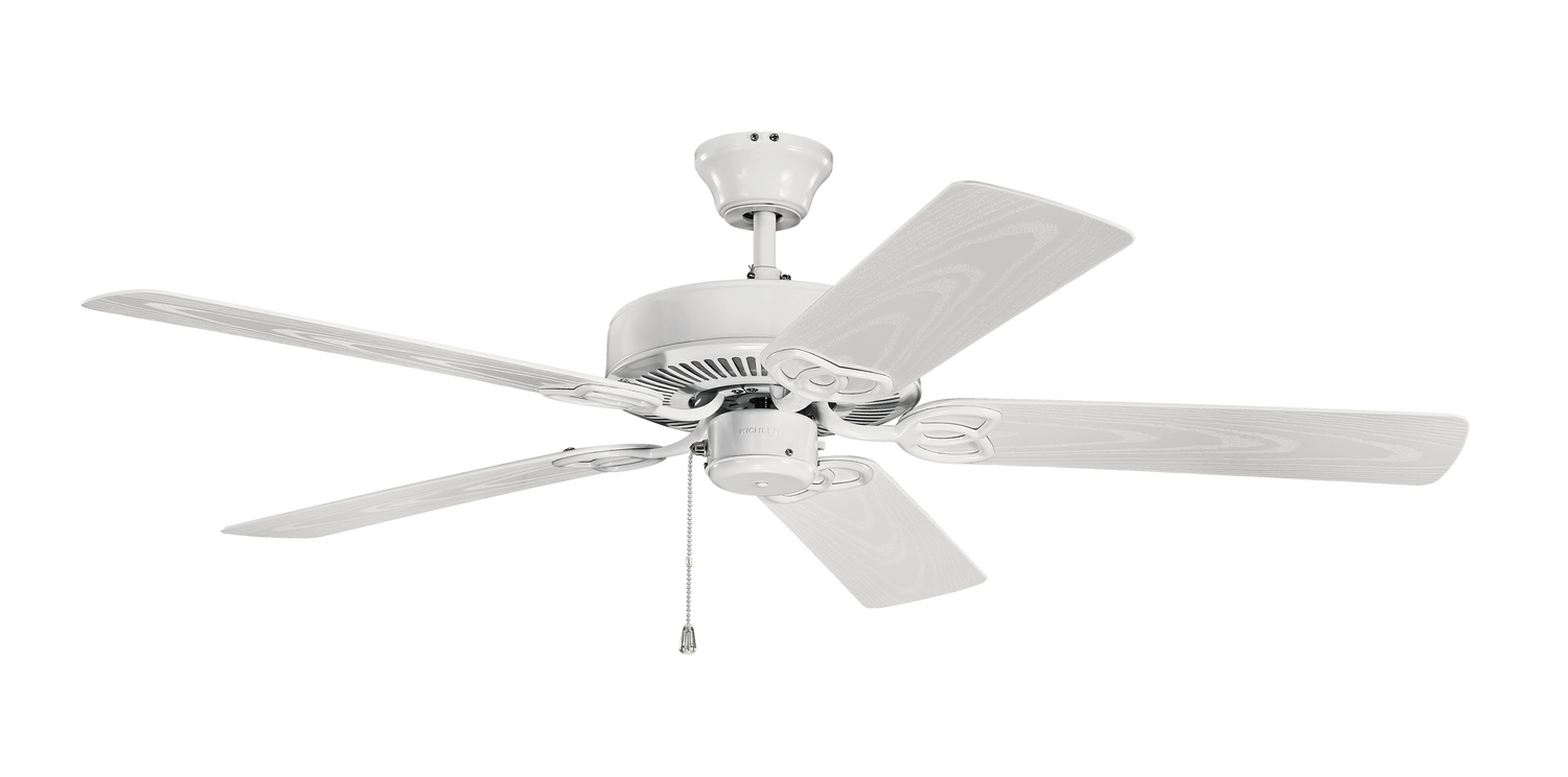 52 inchCeiling Fan from the Basics collection by Kichler 401WH