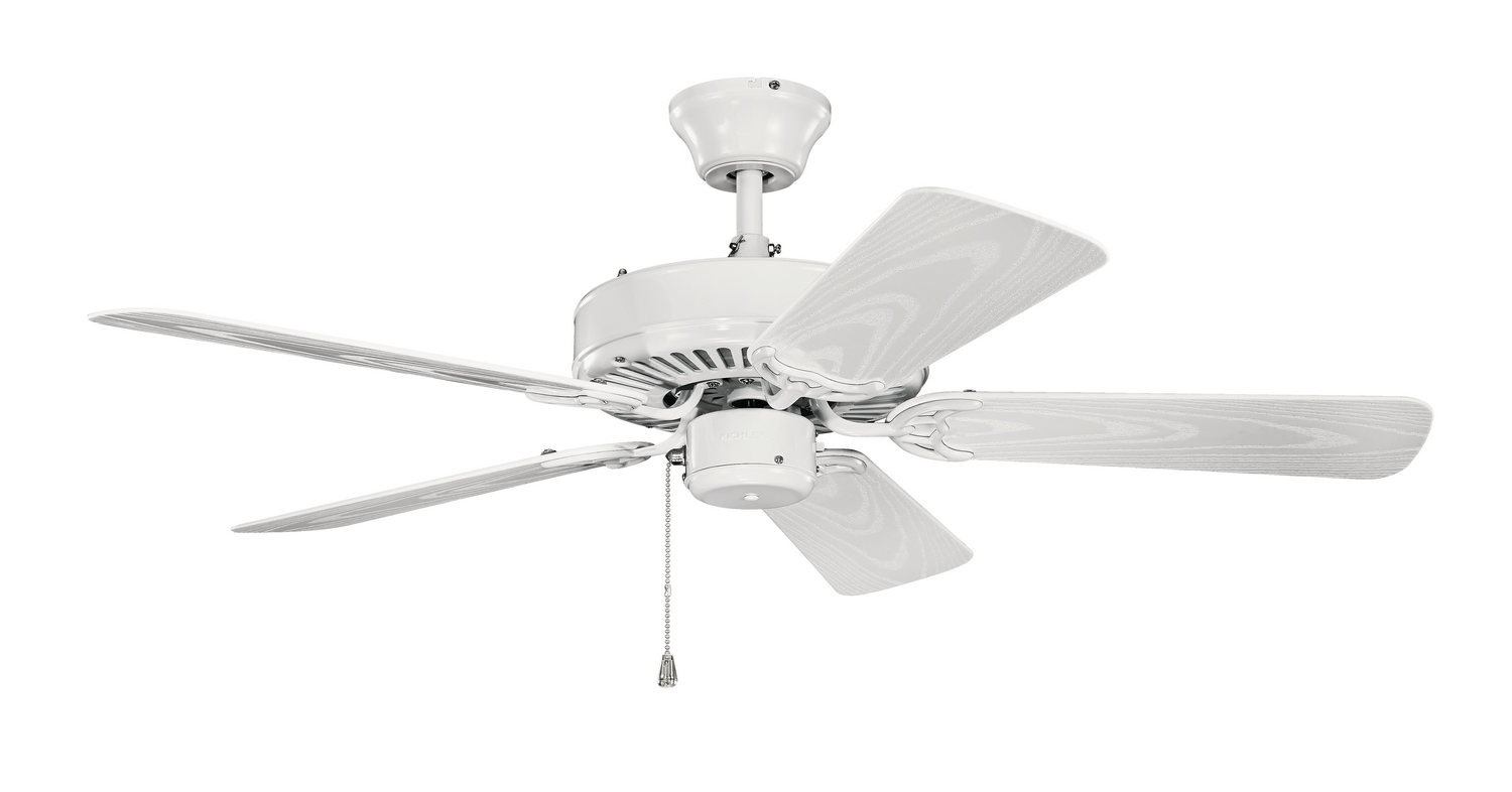 42 inchCeiling Fan from the Basics collection by Kichler 414WH