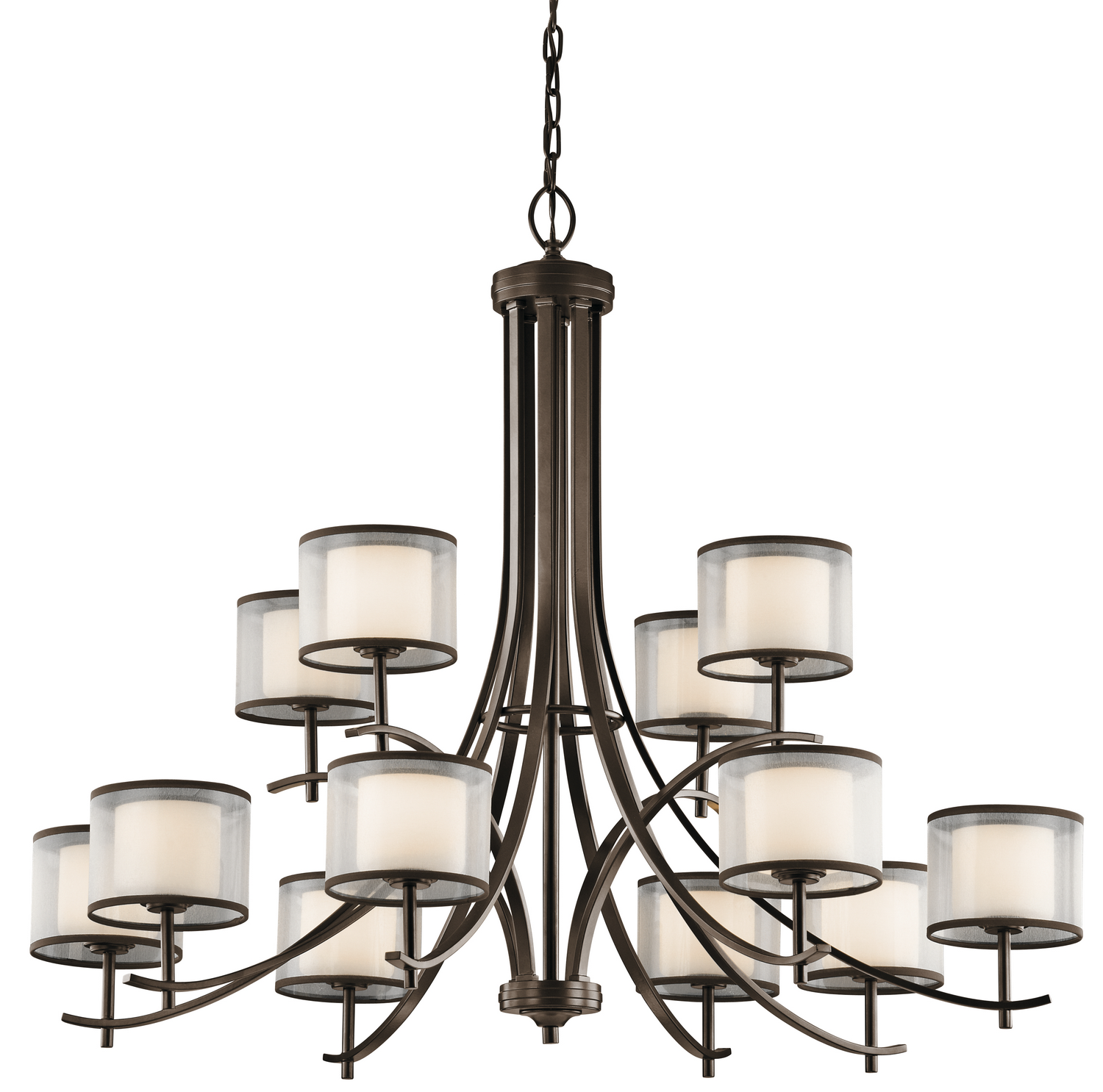 12 Light Chandelier from the Tallie collection by Kichler 43151MIZ