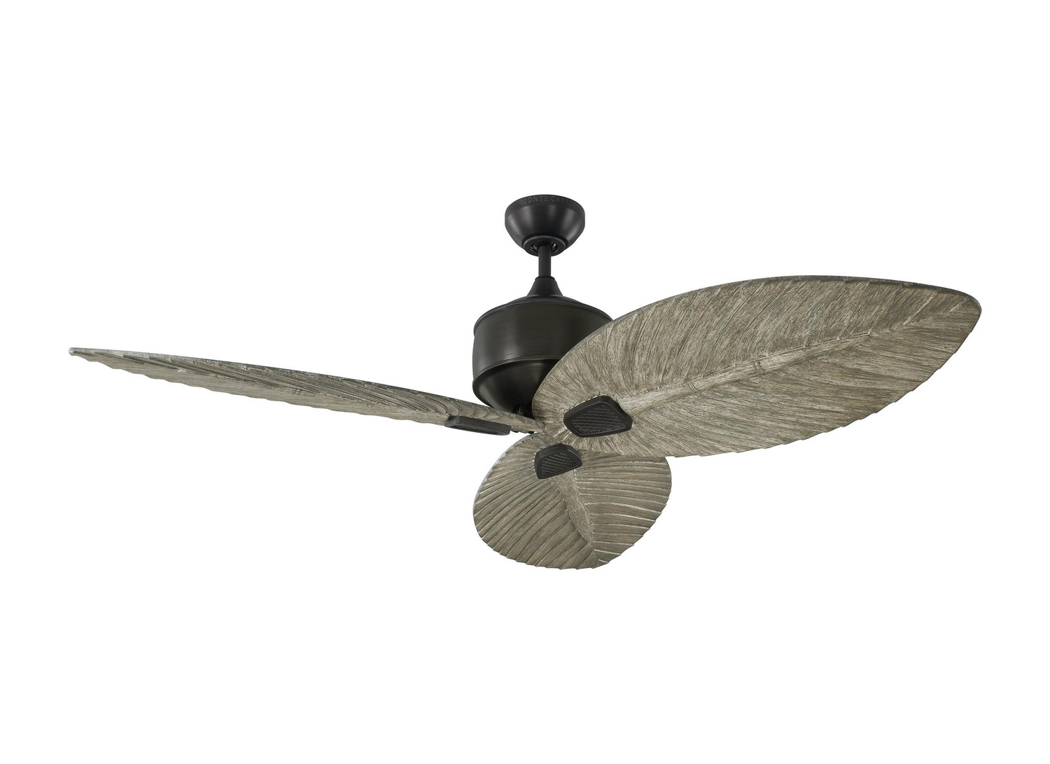 56 inchCeiling Fan from the Delray collection by Monte Carlo 3DLR56AGP
