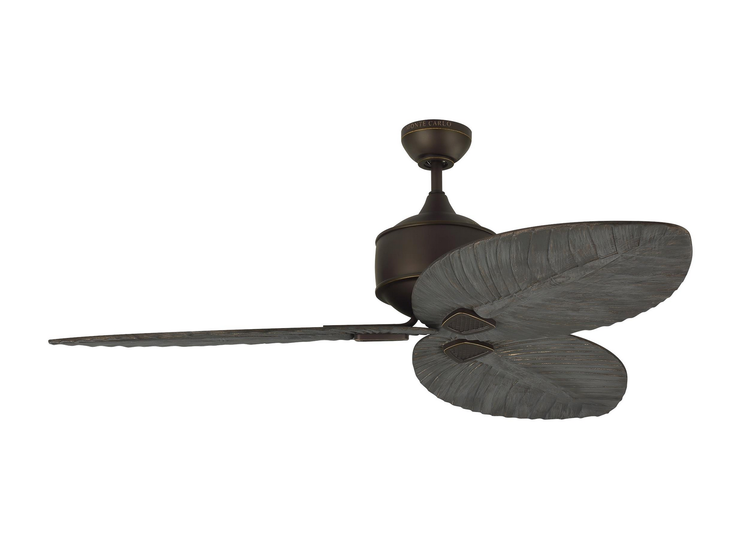 56 inchCeiling Fan from the Delray collection by Monte Carlo 3DLR56RB