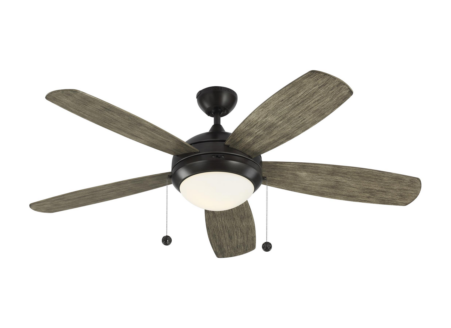 52 inchCeiling Fan from the Discus collection by Monte Carlo 5DI52AGPD