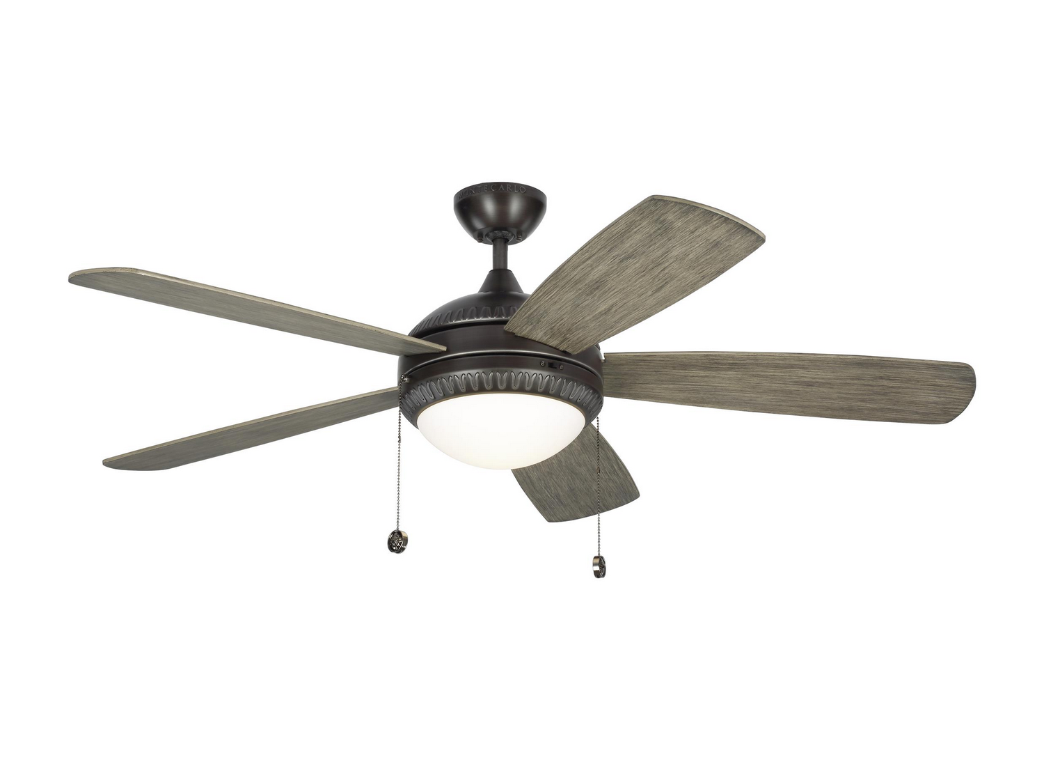 52 inchCeiling Fan from the Discus Ornate collection by Monte Carlo 5DIO52AGPD