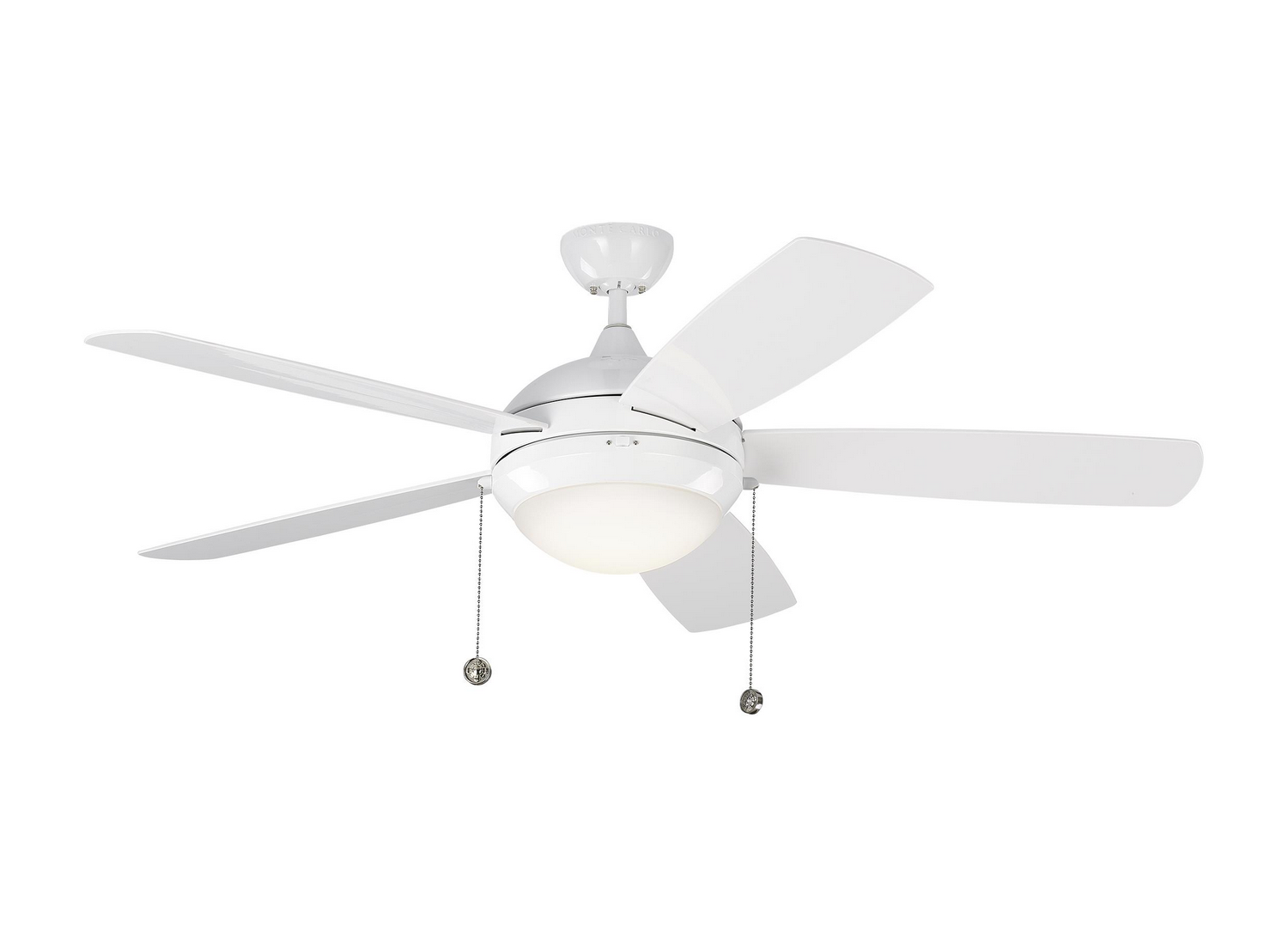 52 inchCeiling Fan from the Discus Outdoor collection by Monte Carlo 5DIW52WHD