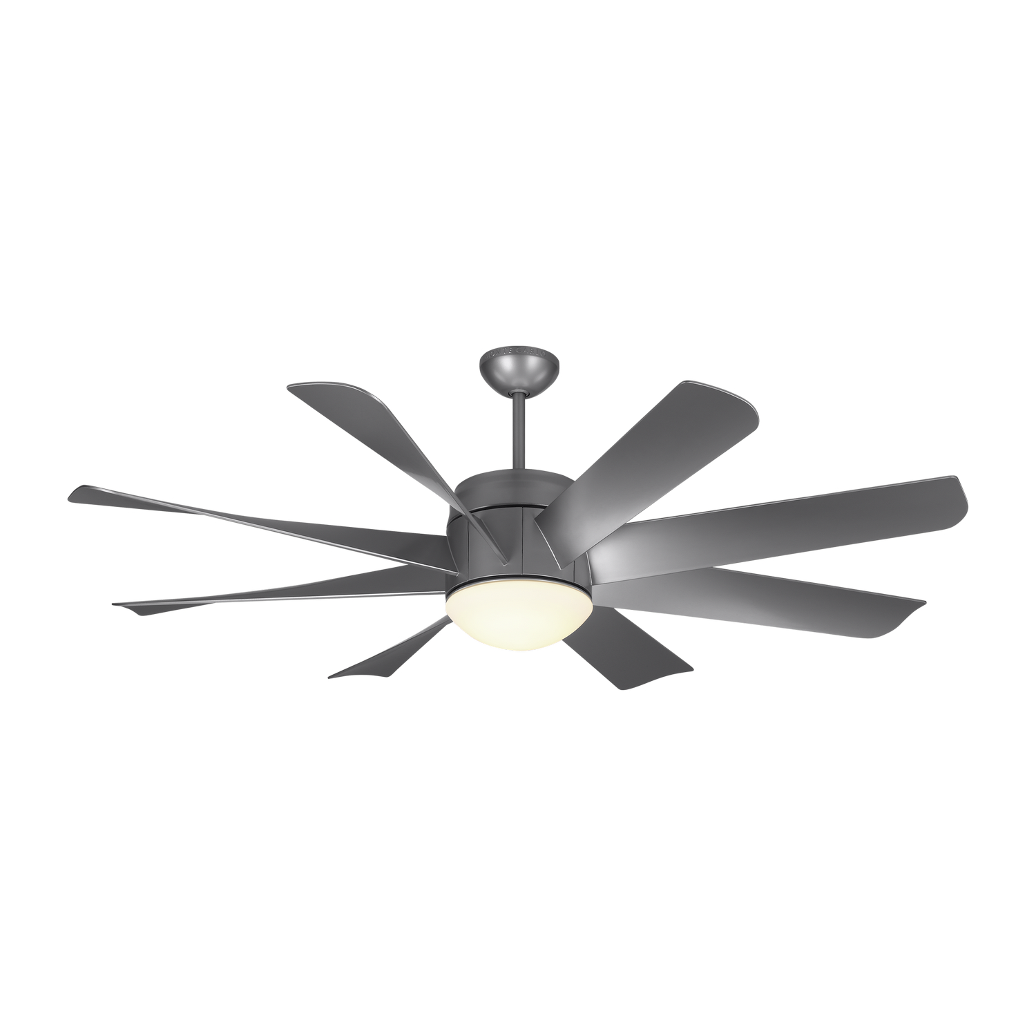 56 inchCeiling Fan from the Turbine LED collection by Monte Carlo 8TNR56PBSD V1