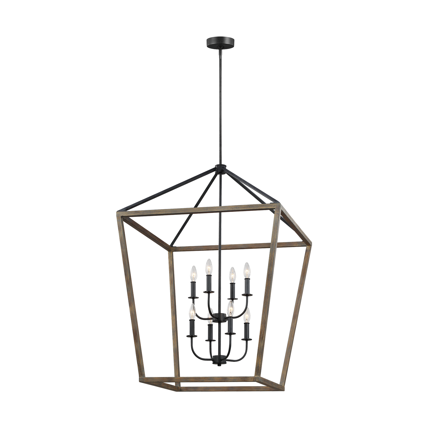 Eight Light Chandelier from the Gannet collection by Feiss F31948WOWAF
