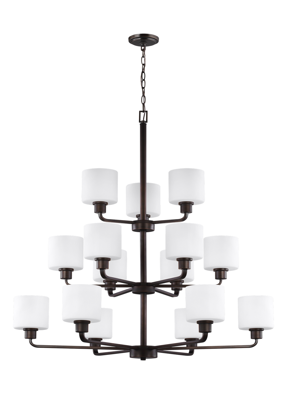 15 Light Chandelier from the Canfield collection by Seagull 3128815 710