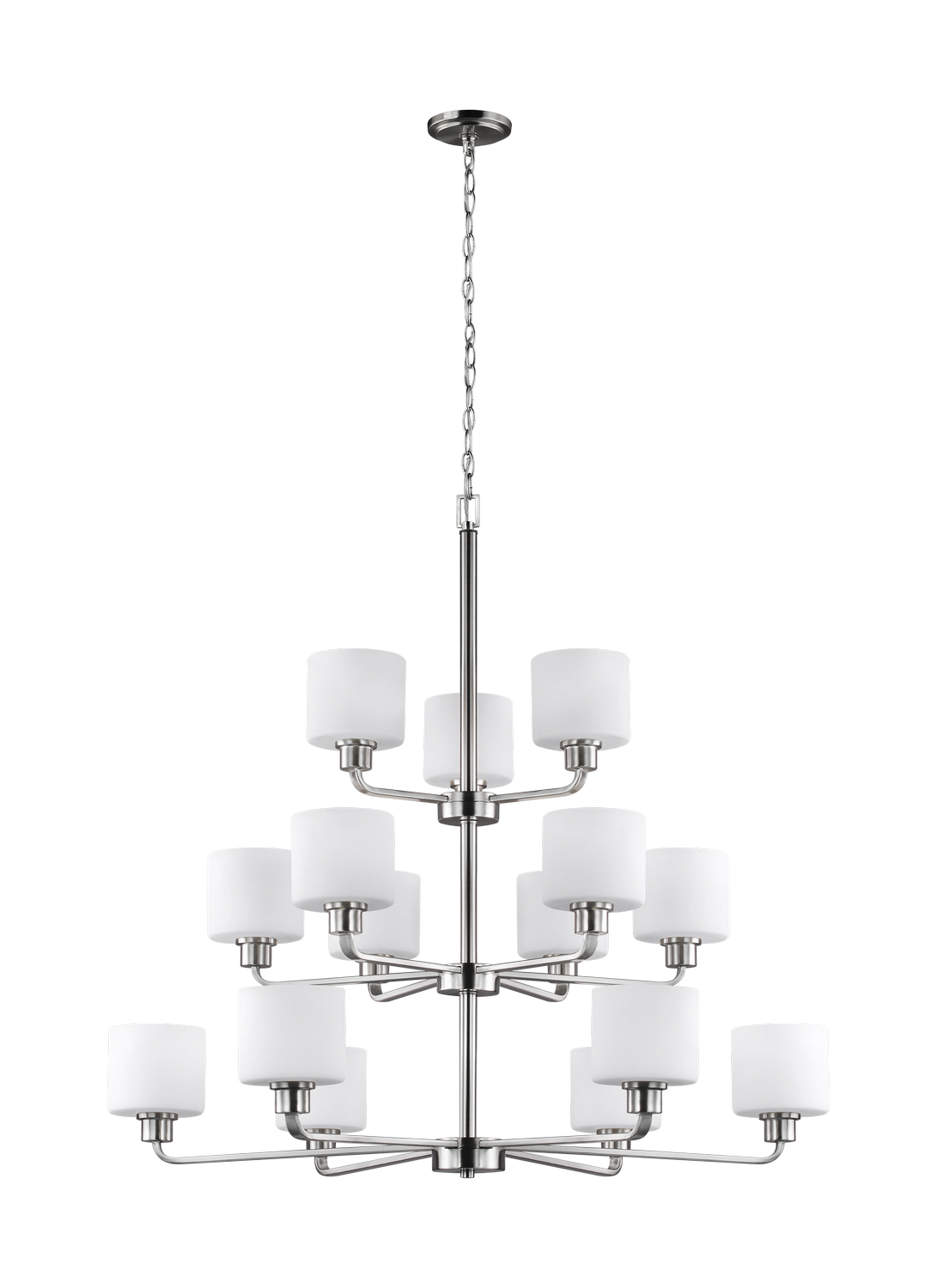 15 Light Chandelier from the Canfield collection by Seagull 3128815 962