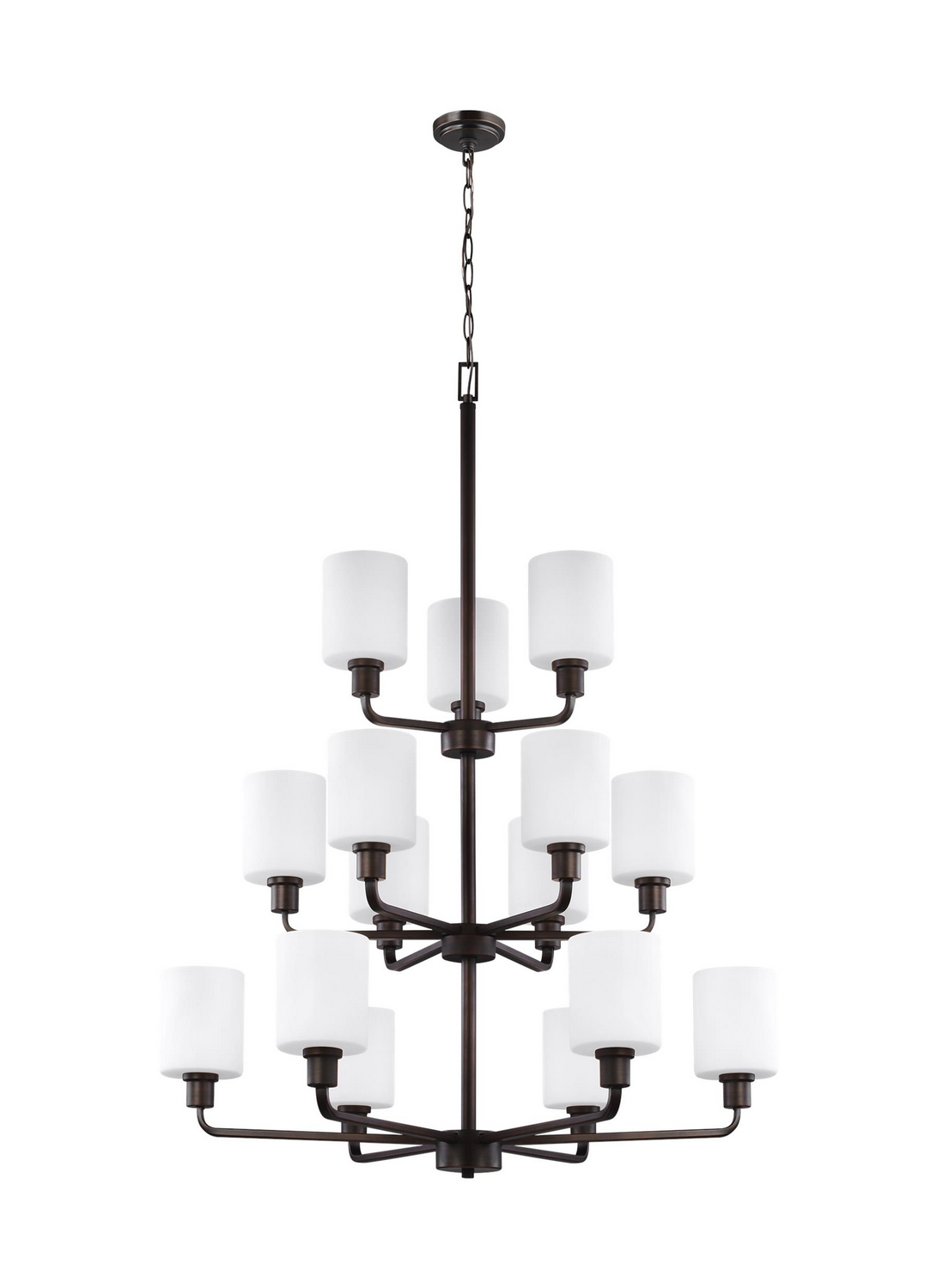 15 Light Chandelier from the Canfield collection by Seagull 3128815EN3 710