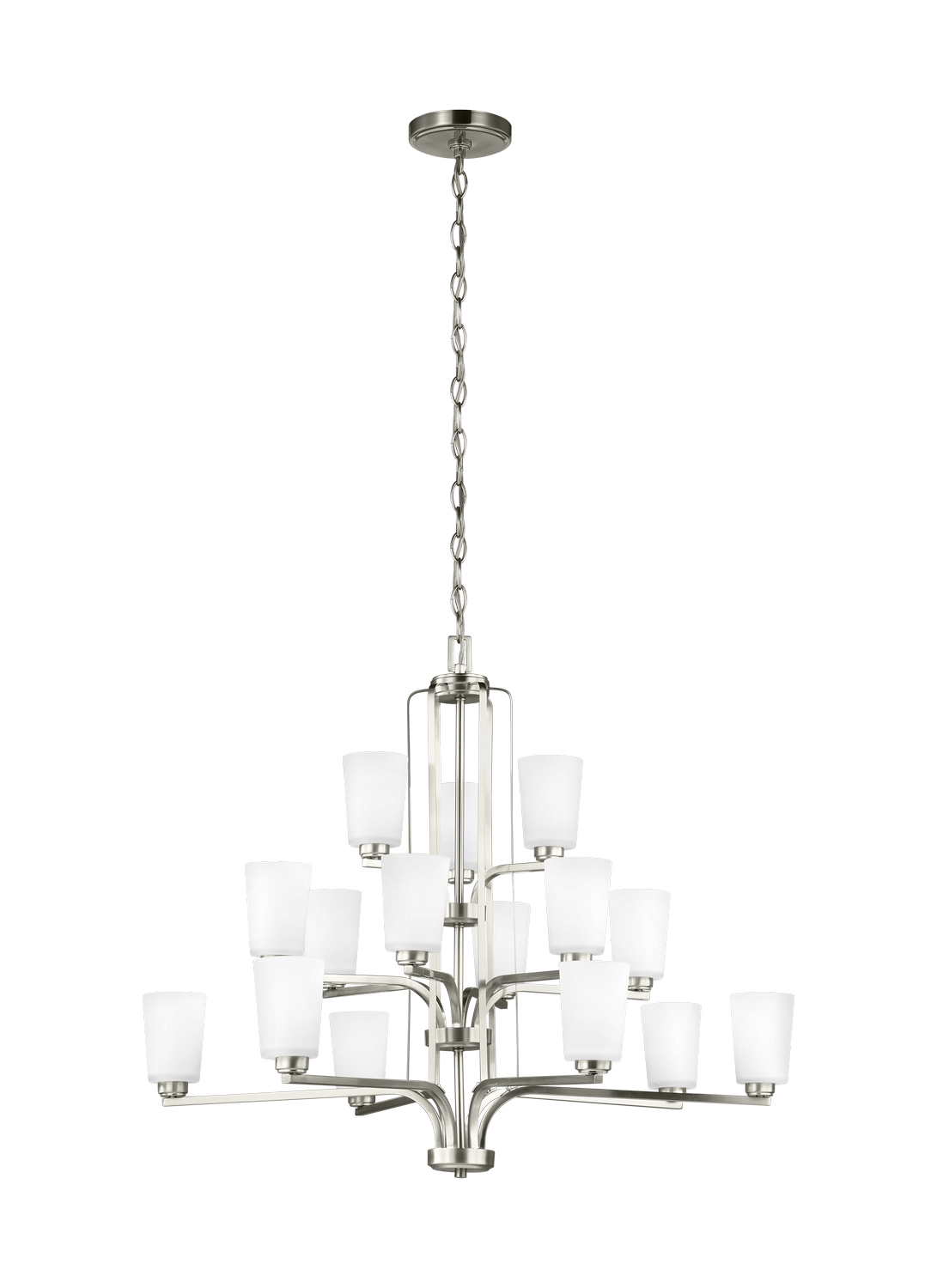 15 Light Chandelier from the Franport collection by Seagull 3128915EN3 962