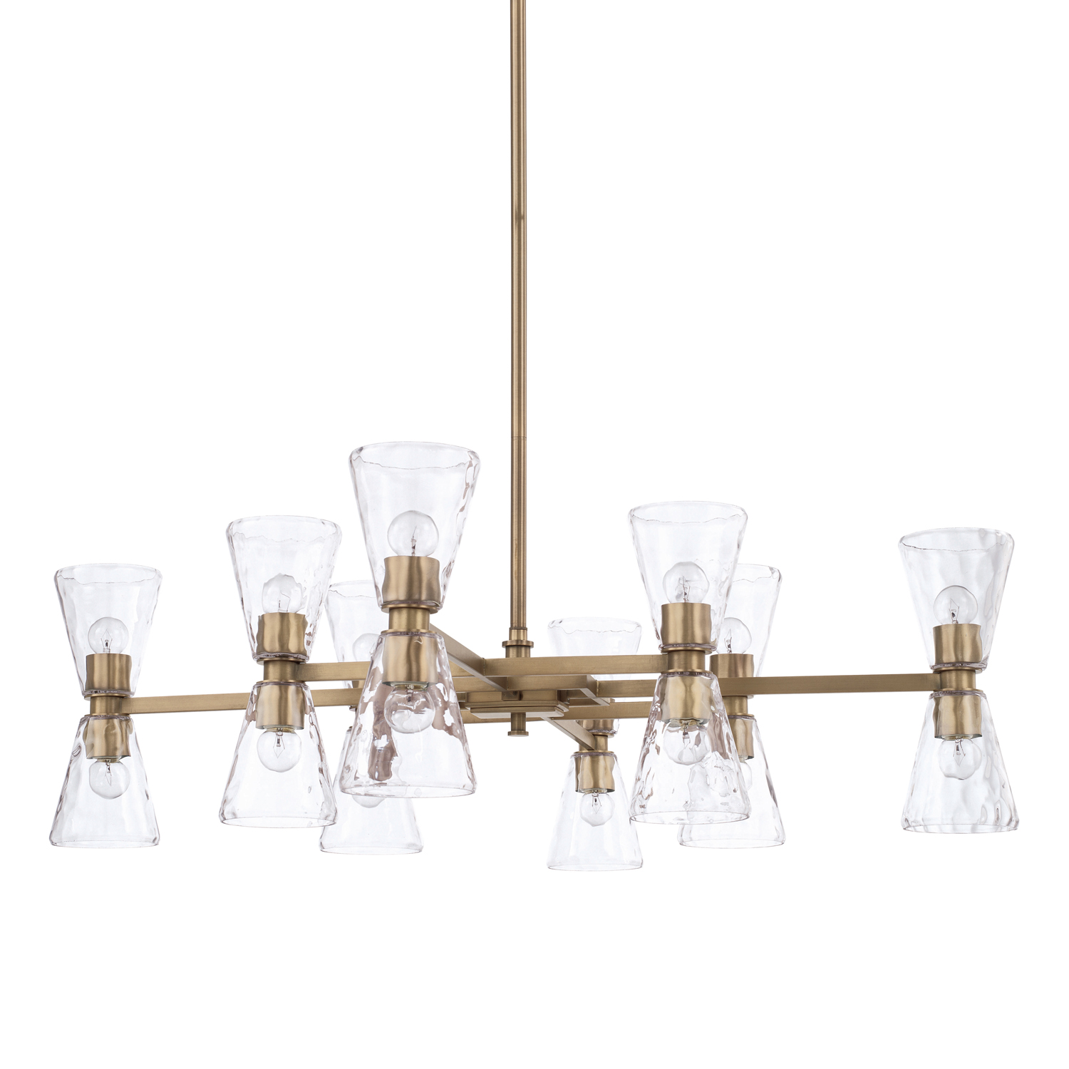 16 Light Chandelier from the Lyra collection by Capital Lighting 427501AD 456
