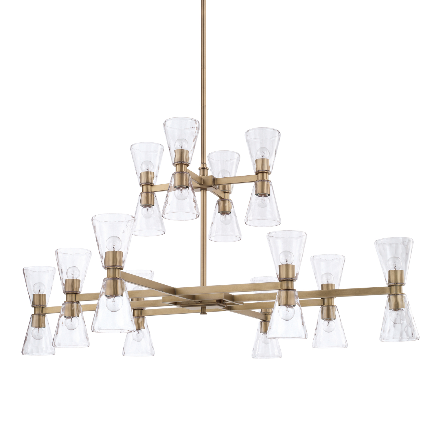 24 Light Chandelier from the Lyra collection by Capital Lighting 427502AD 456