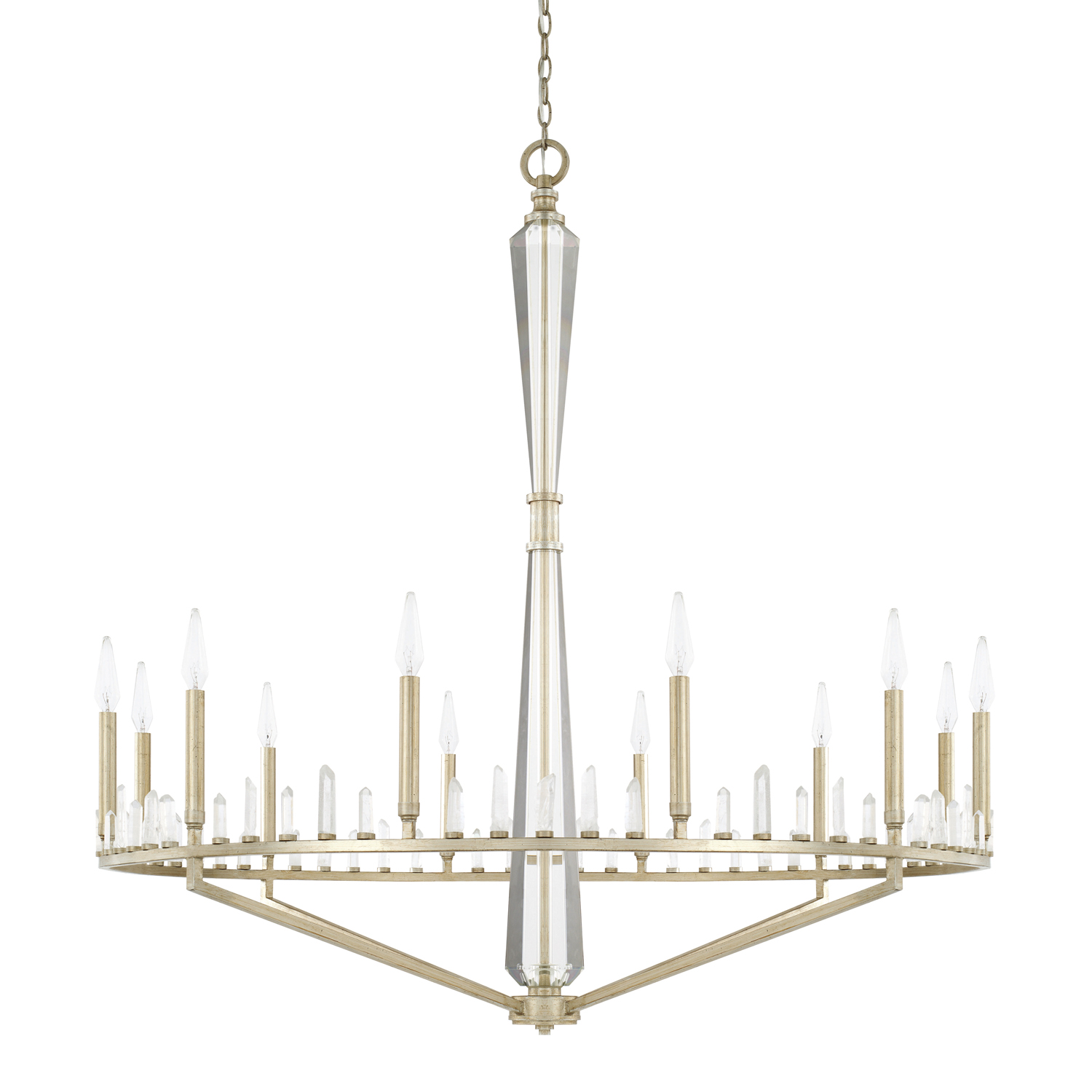 12 Light Chandelier from the Adira collection by Capital Lighting 428202WG