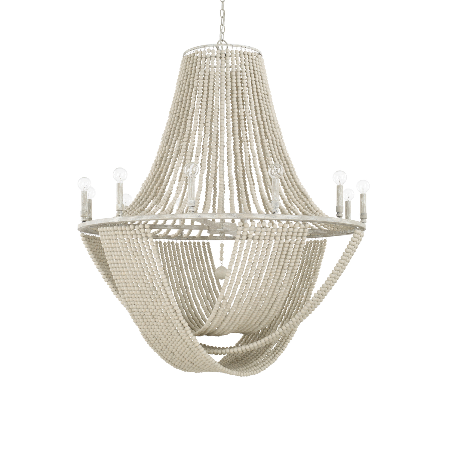 12 Light Chandelier from the Kayla collection by Capital Lighting 429501MS