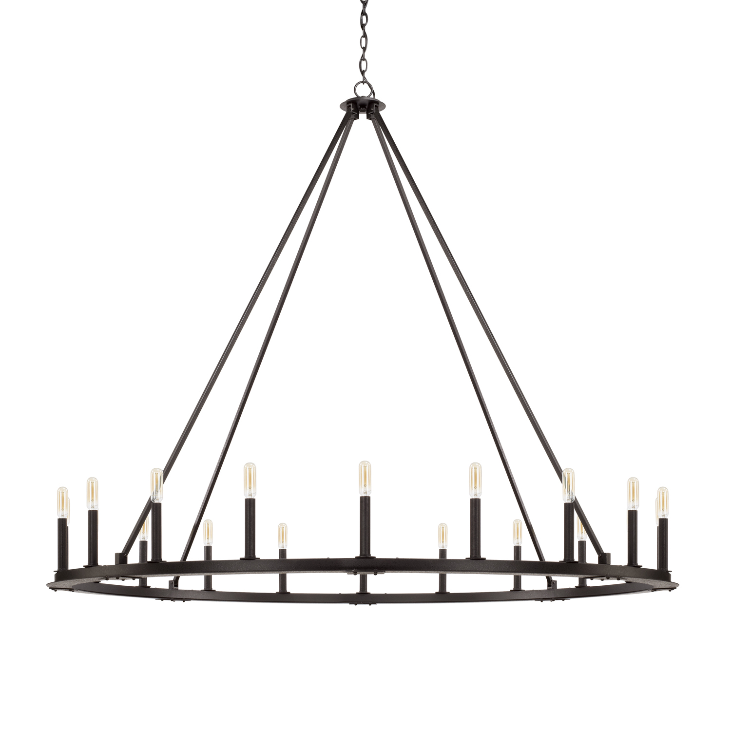 20 Light Chandelier from the Pearson collection by Capital Lighting 4913BI