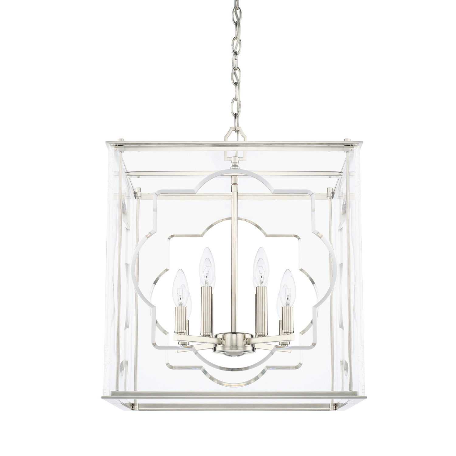 Eight Light Foyer Chandelier by Capital Lighting 525681PN