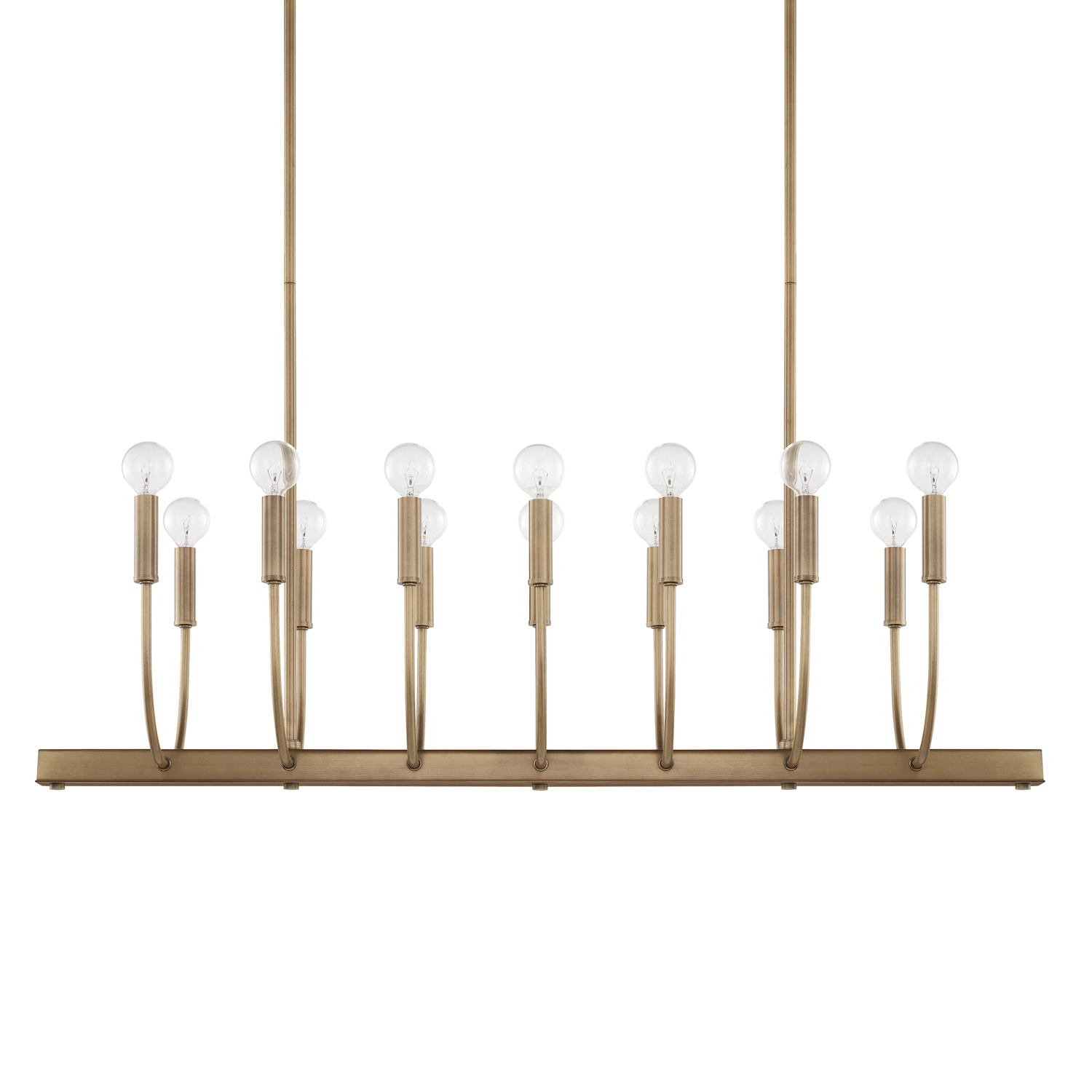 14 Light Island Chandelier from the Zander collection by Capital Lighting 821902AD