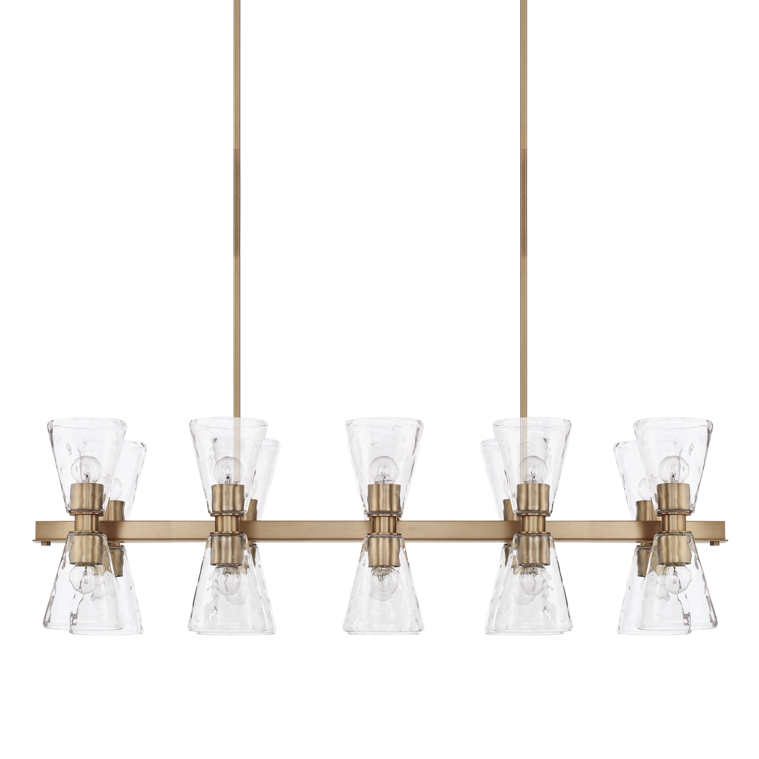 20 Light Island Chandelier from the Lyra collection by Capital Lighting 827501AD 456
