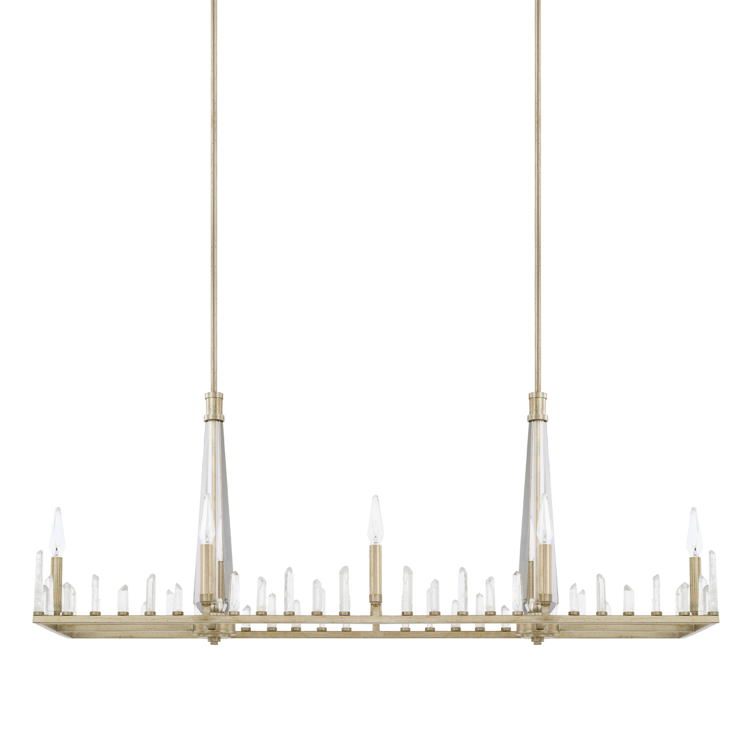 Eight Light Island Chandelier from the Adira collection by Capital Lighting 828281WG