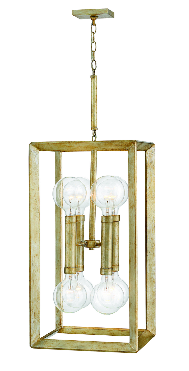 Eight Light Entry Foyer Pendant from the Tinsley collection by Hinkley 3108SL