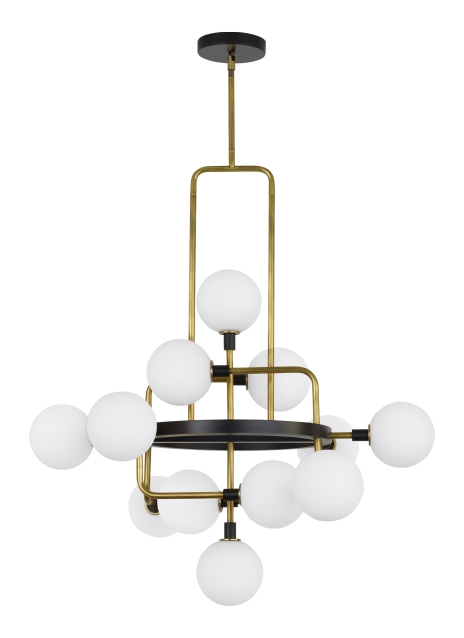 Chandelier from the Viaggio collection by Tech Lighting 700VGOOR