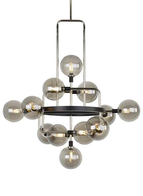 Chandelier from the Viaggio collection by Tech Lighting 700VGOSN