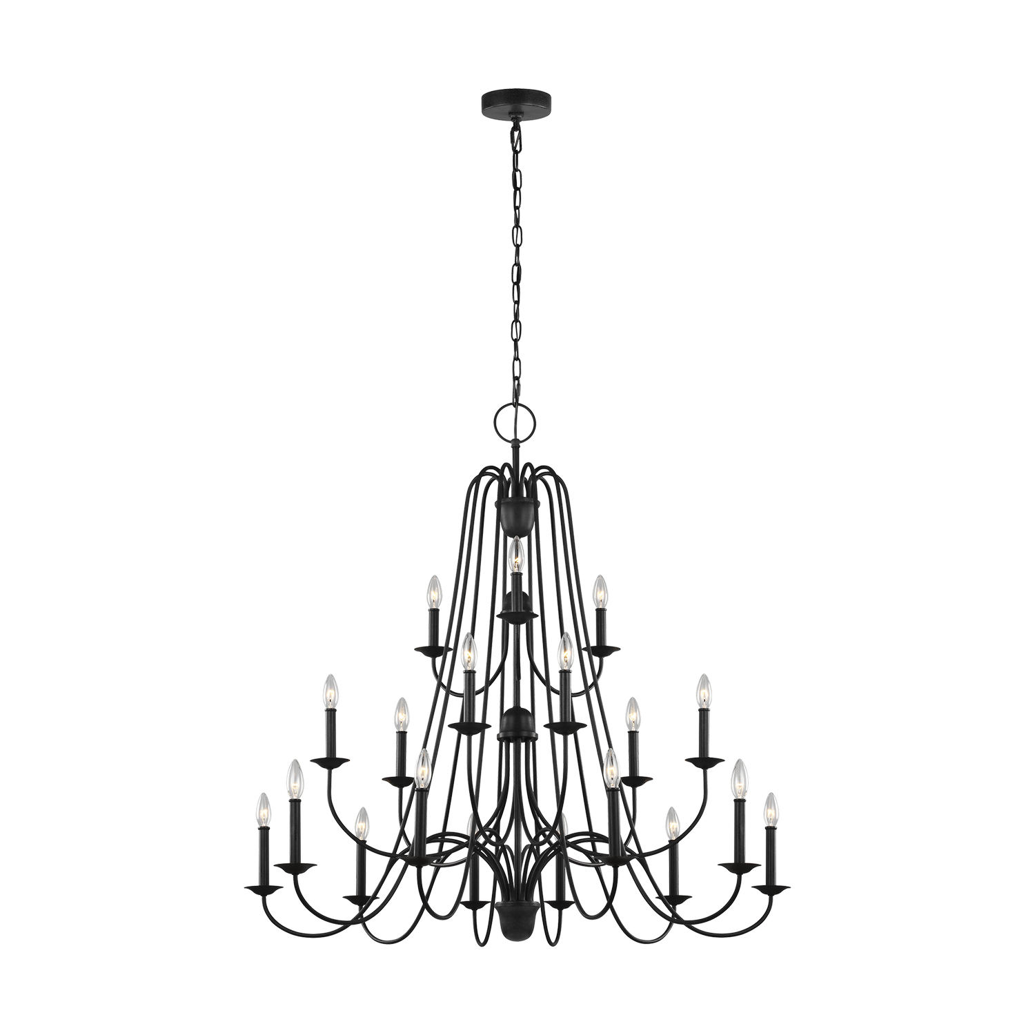 18 Light Chandelier from the Boughton collection by Seagull F320718AF