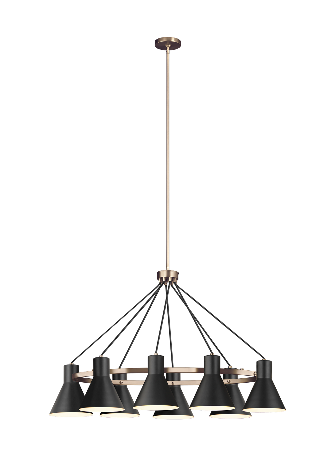 Eight Light Island Chandelier from the Towner collection by Seagull 6641308EN3 848