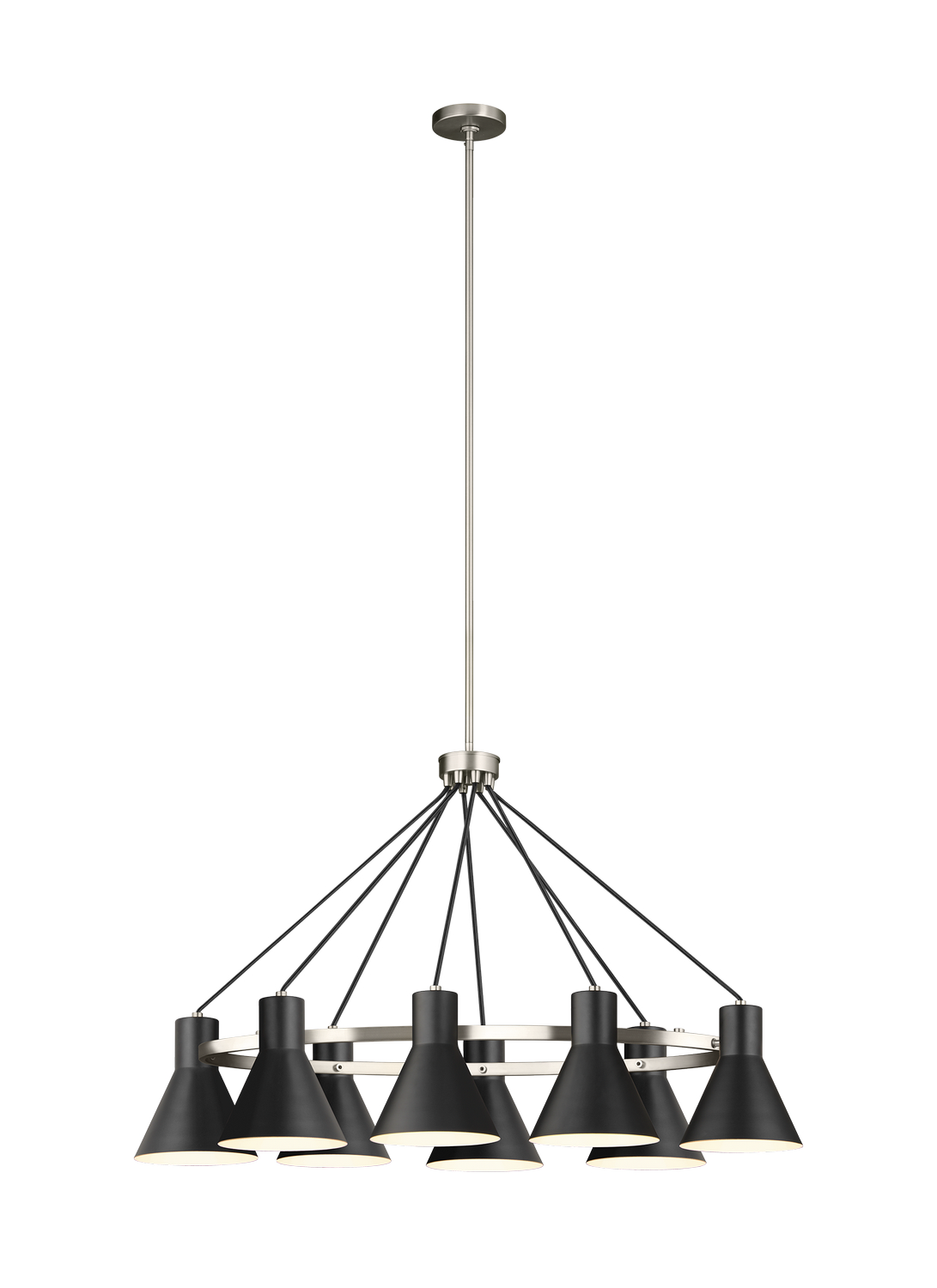 Eight Light Island Chandelier from the Towner collection by Seagull 6641308EN3 962