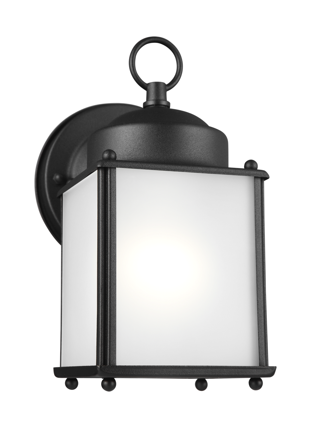 One Light Outdoor Wall Lantern From The New Castle Collection By Seagull 8592001en3 12