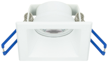 2 inchSquare Direct from the EPIQ Recessed Downlight collection by American Lighting E2 QRE 30 WH