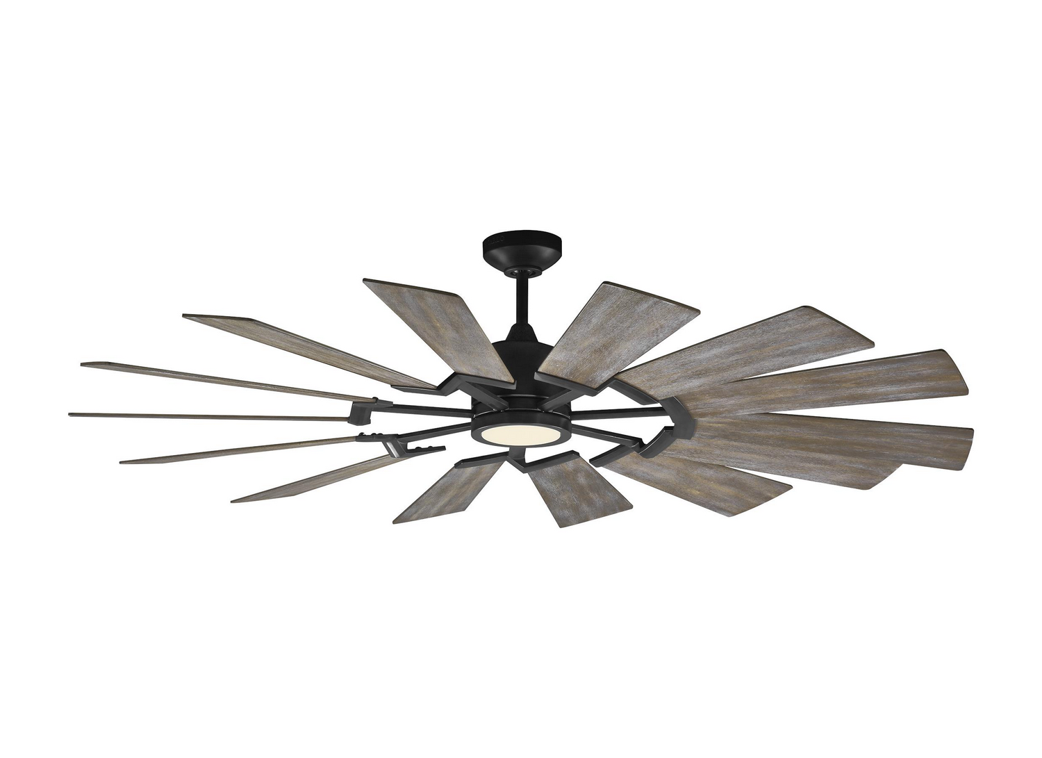 62 inchCeiling Fan from the Prairie collection by Monte Carlo 14PRR62AGPD